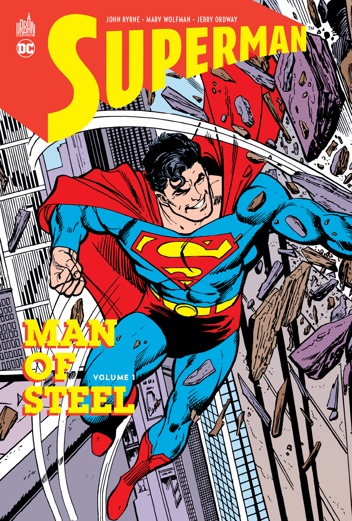 SUPERMAN MAN OF STEEL TOME 1