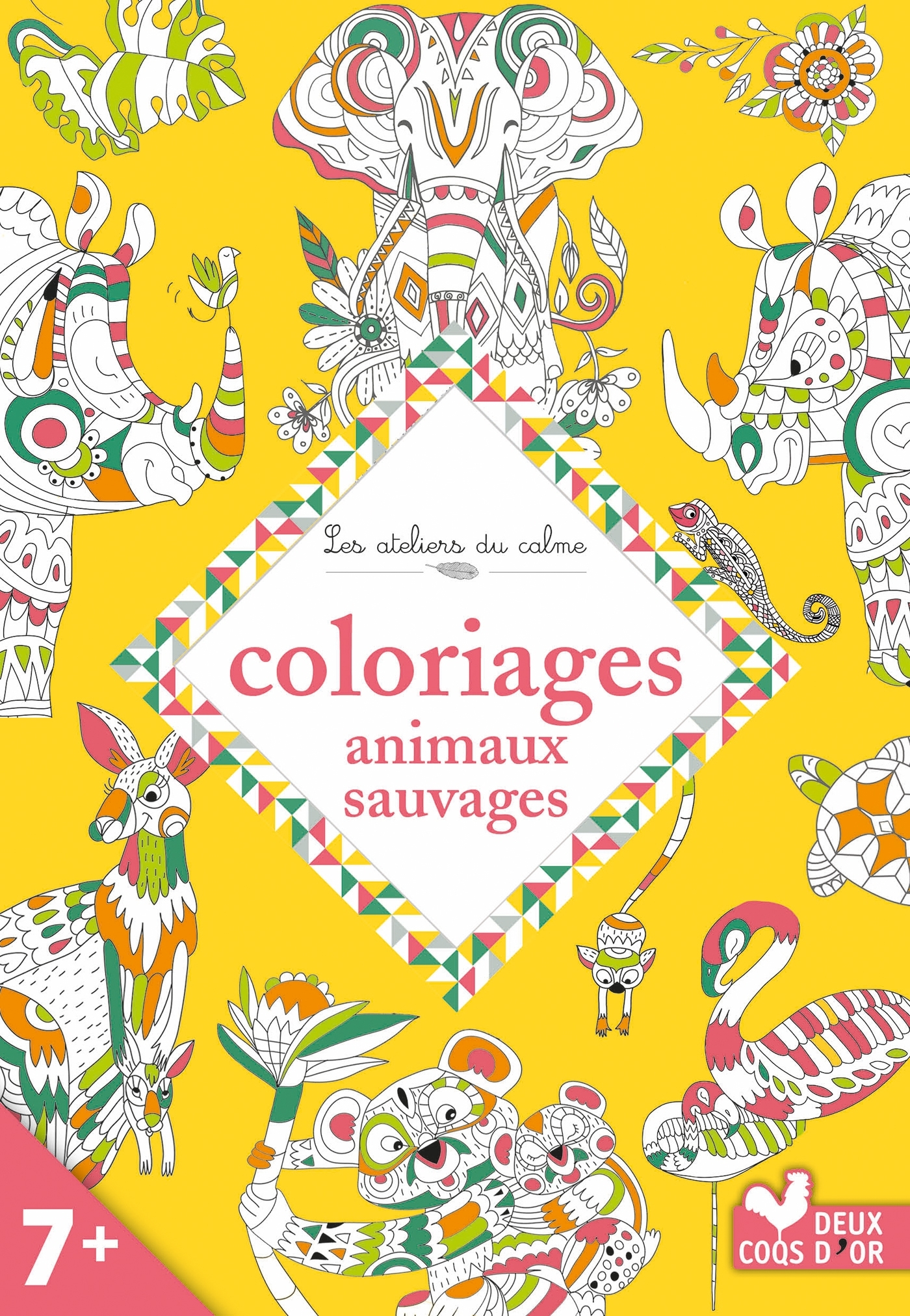 COLORIAGES - ANIMAUX SAUVAGES