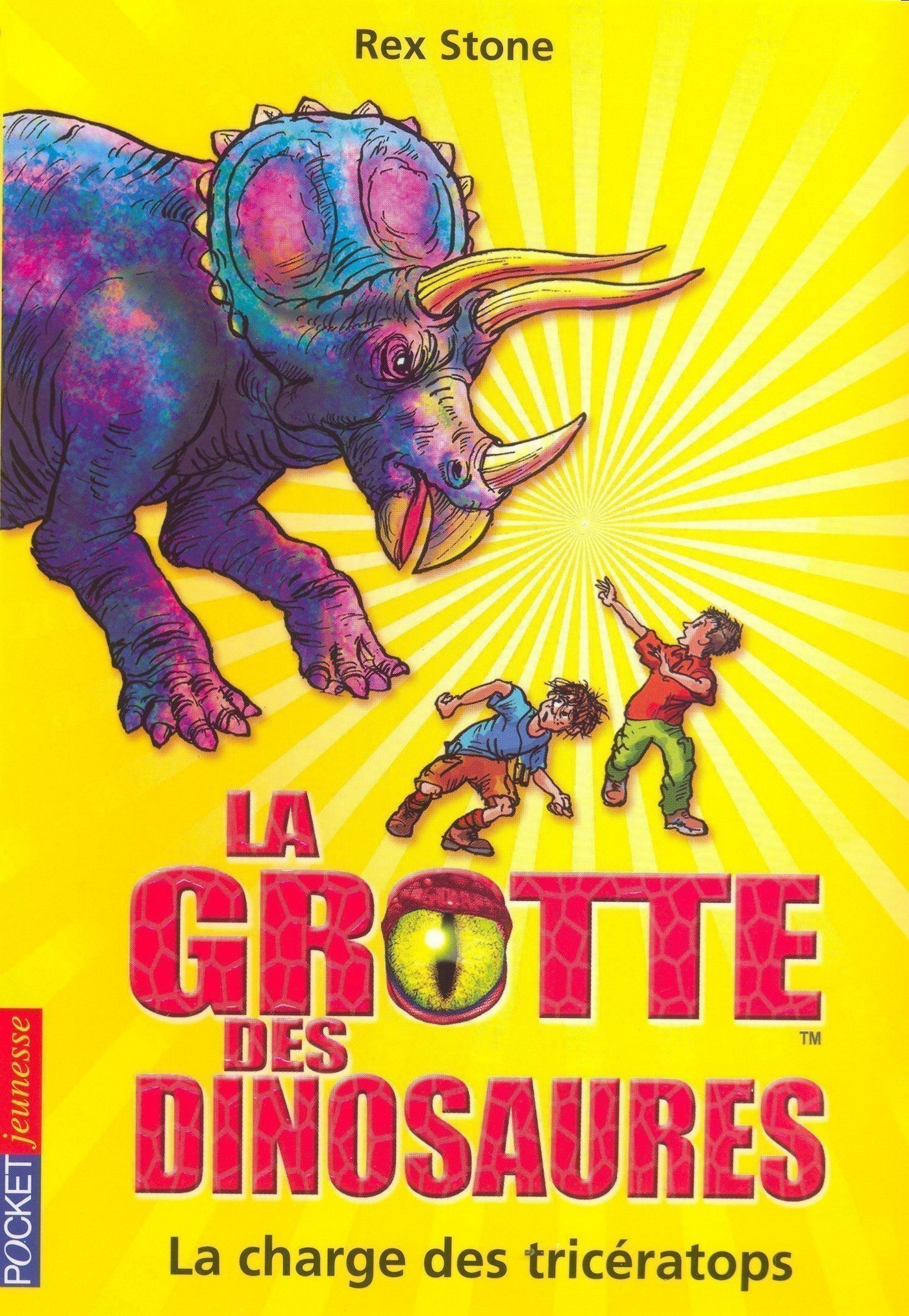 La grotte des dinosaures tome 2, LA CHARGE DES TRICÉRATOPS