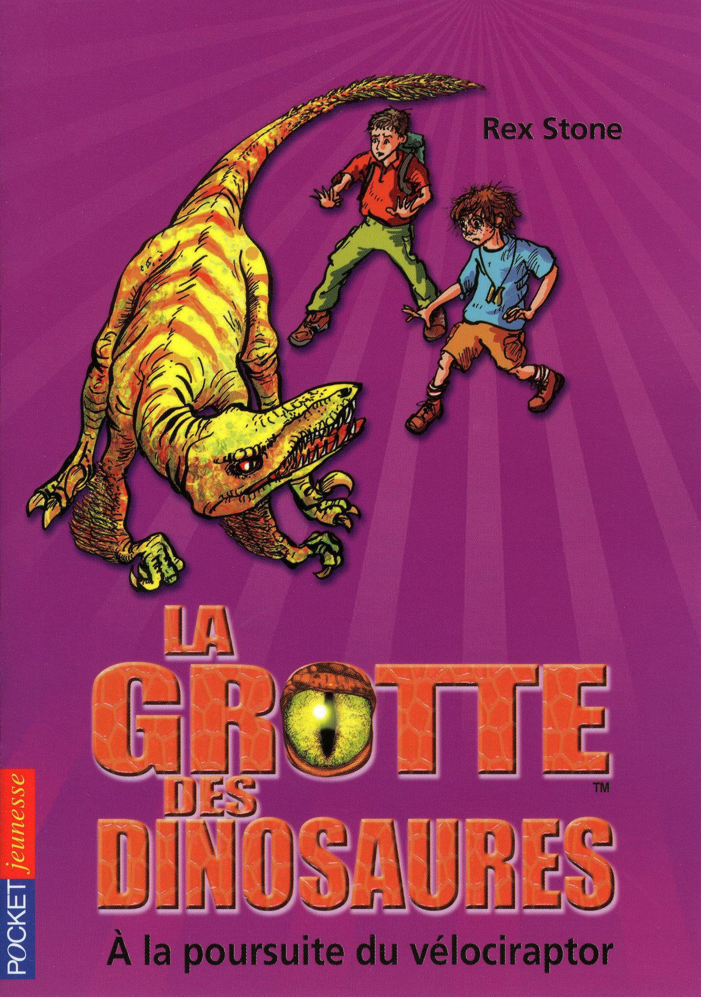 La grotte des dinosaures tome 5, A LA POURSUITE DU VÉLOCIRAPTOR