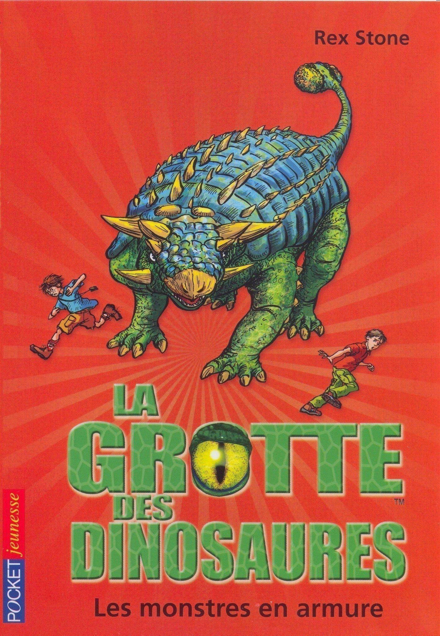 La grotte des dinosaures tome 3, LES MONSTRES EN ARMURE