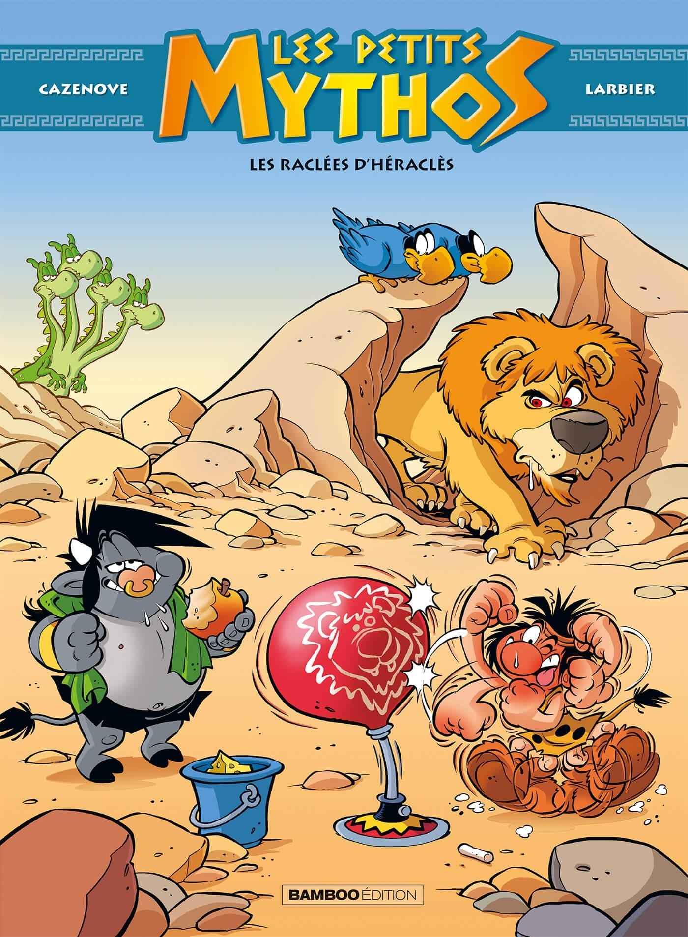 LES PETITS MYTHOS - TOME 7 - LES RACLEES D'HERACLES