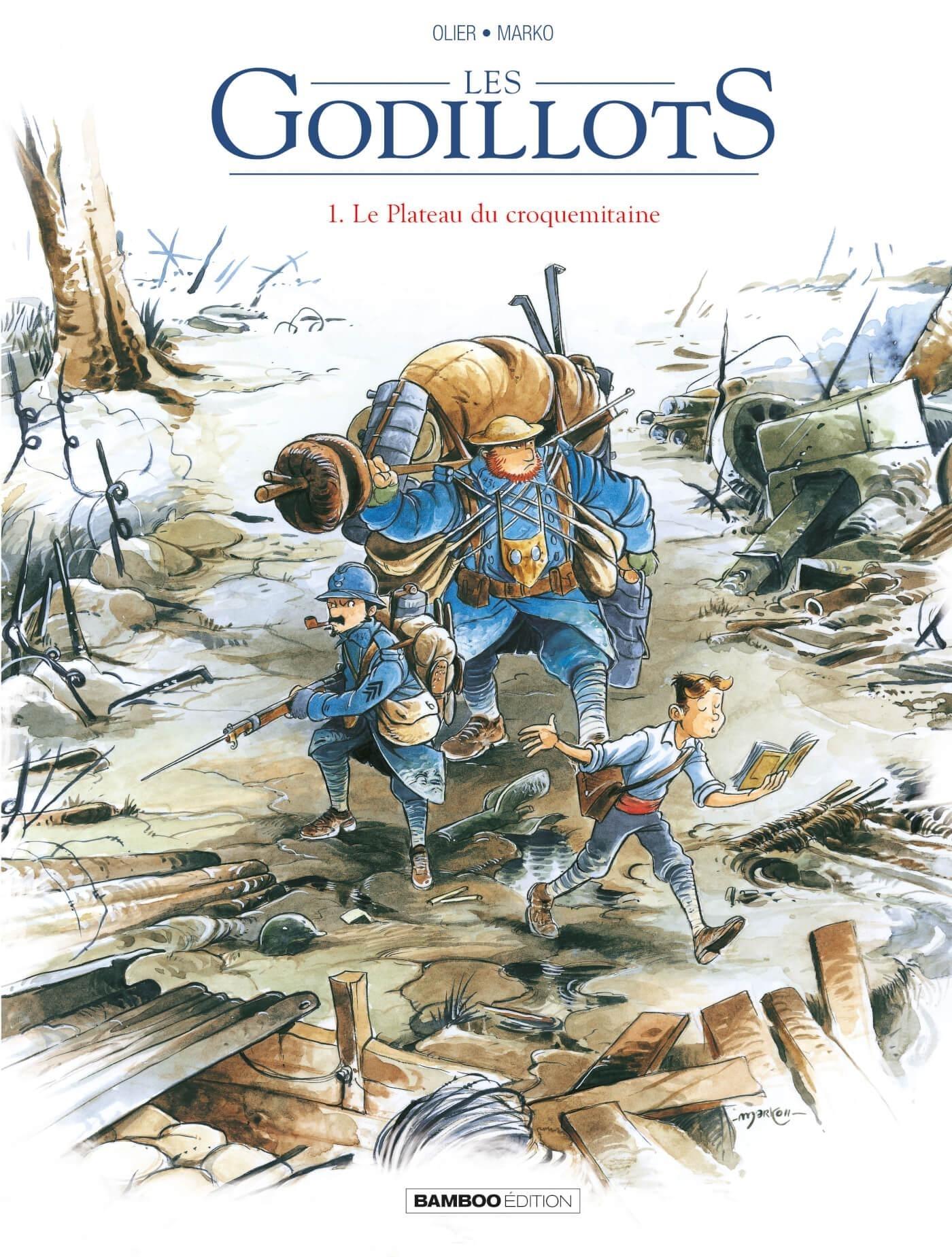 LES GODILLOTS - TOME 1 - LE PLATEAU DU CROQUEMITAINE
