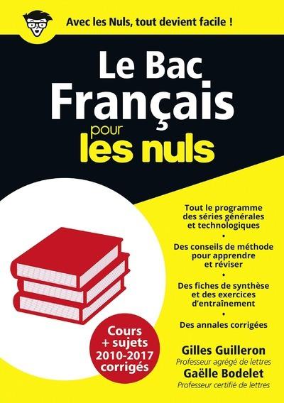 LE BAC FRANCAIS POUR LES NULS