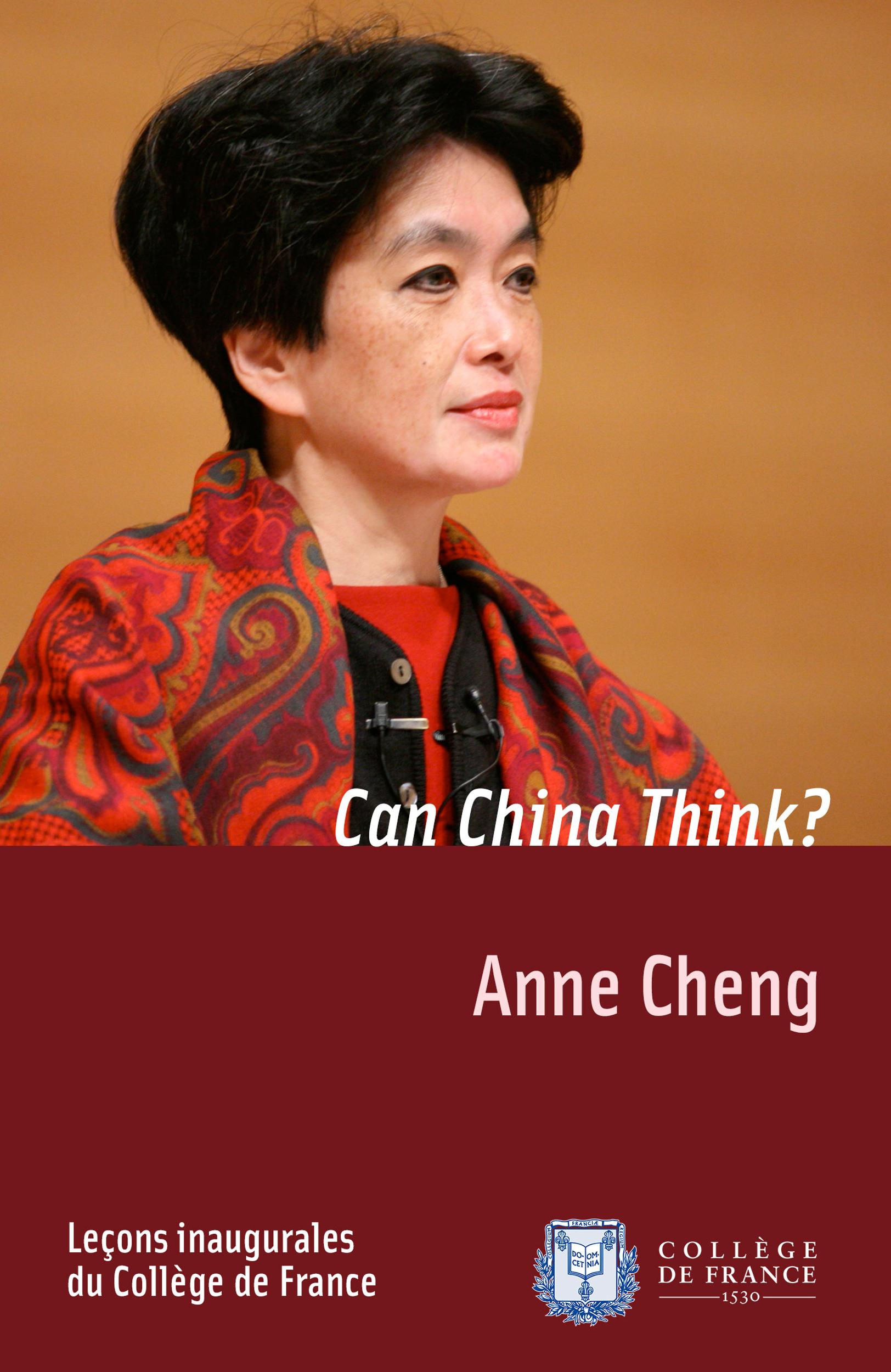 Can China Think?, INAUGURAL LECTURE DELIVERED ON THURSDAY 11 DECEMBER 2008