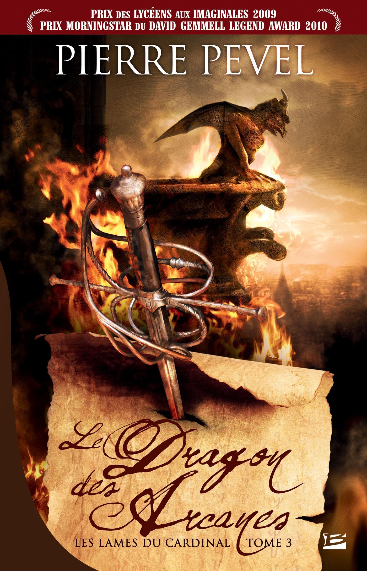 Le Dragon des Arcanes, LES LAMES DU CARDINAL, T3