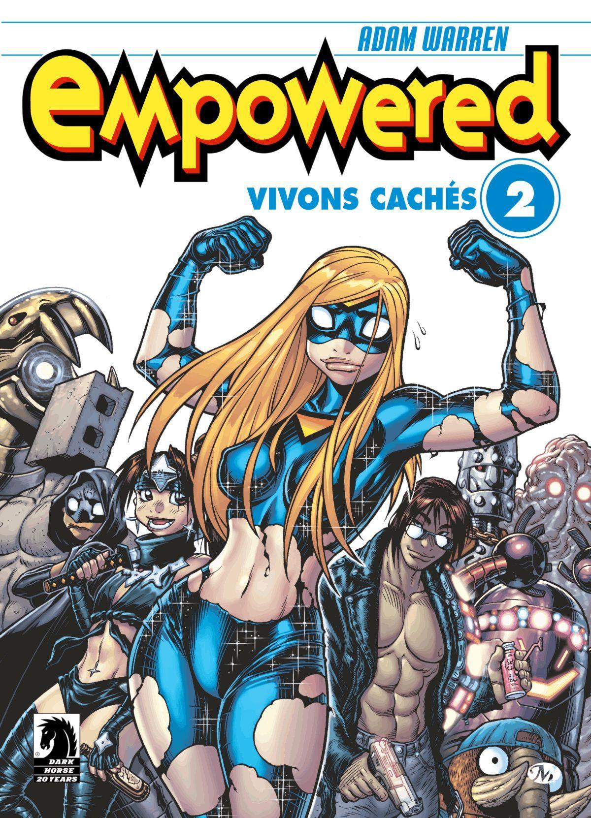 Empowered #2 : Vivons cachés, EMPOWERED, T2