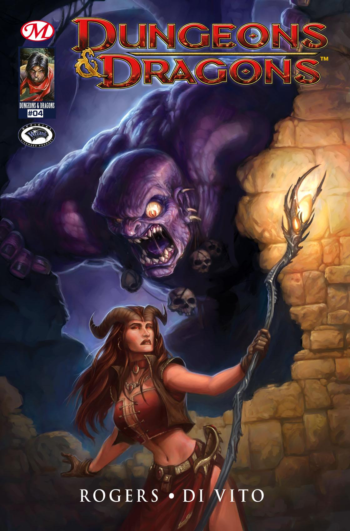 Dungeons & Dragons #4, DUNGEONS & DRAGONS, T1