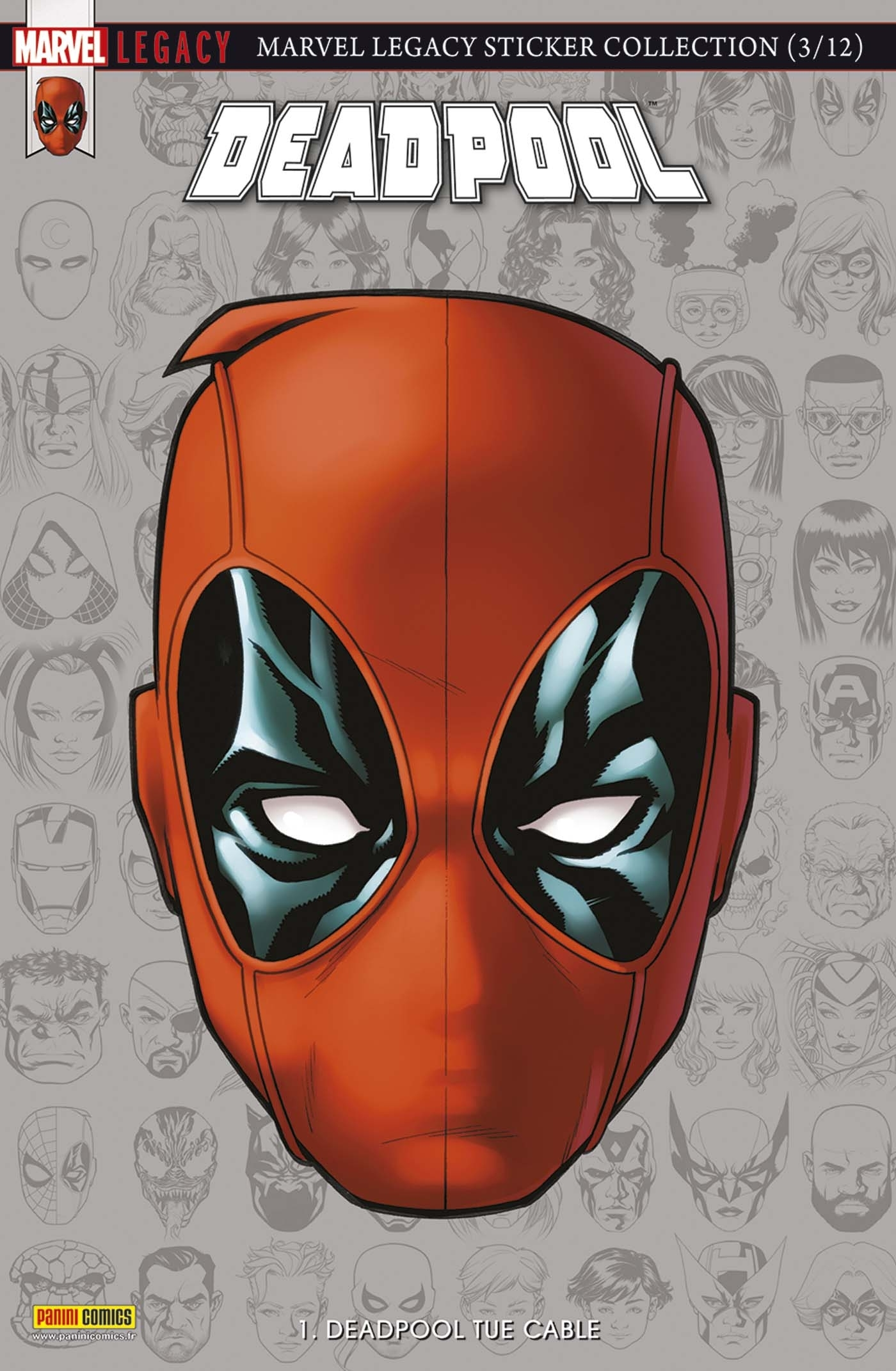 MARVEL LEGACY : DEADPOOL N 1