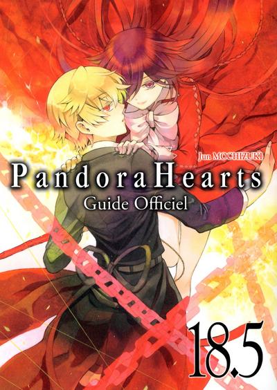 PANDORA HEARTS T18.5 GUIDE OFFICIEL