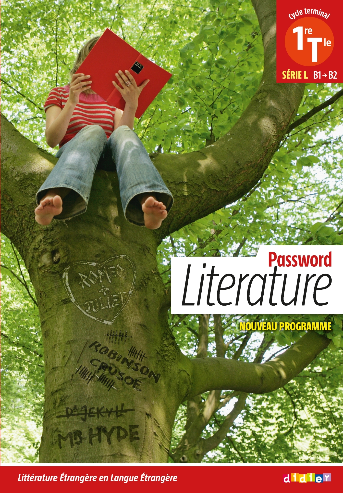 PASSWORD LITERATURE  1RE  TLE L (ED. 2012) - LIVRE
