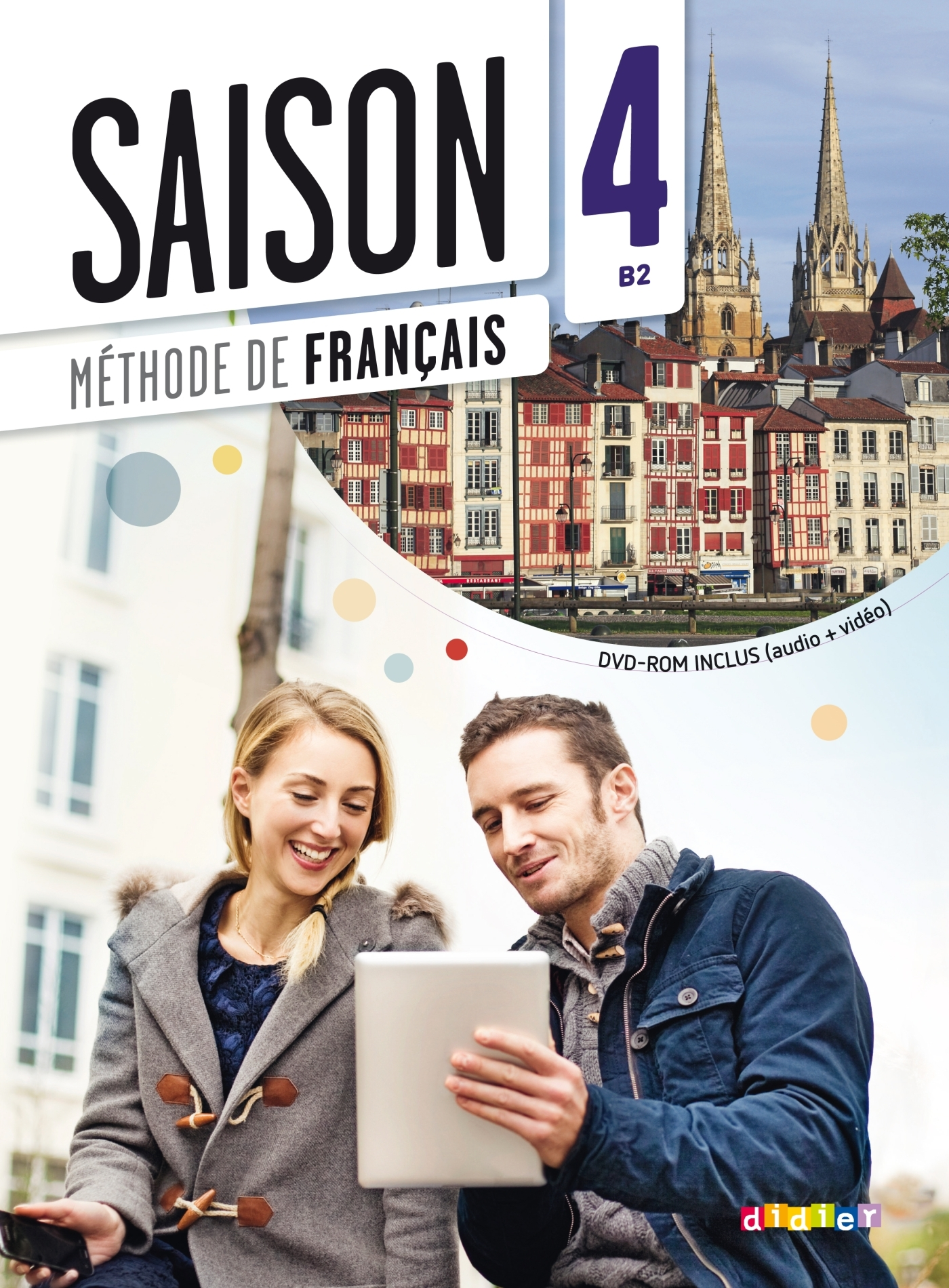 SAISON 4 NIV.B2 - LIVRE + CD MP3 + DVD