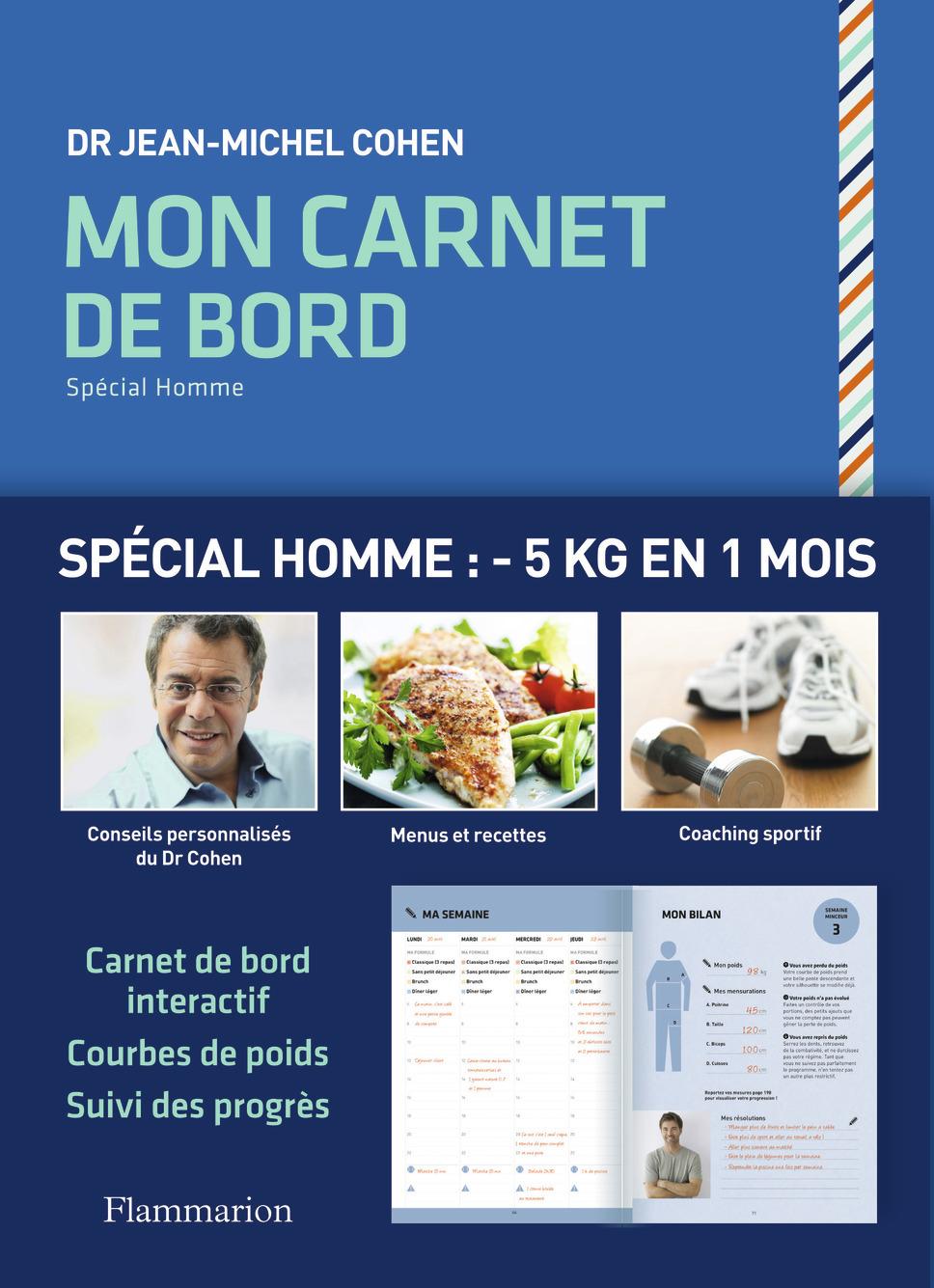 CARNET DE BORD SPECIAL HOMME