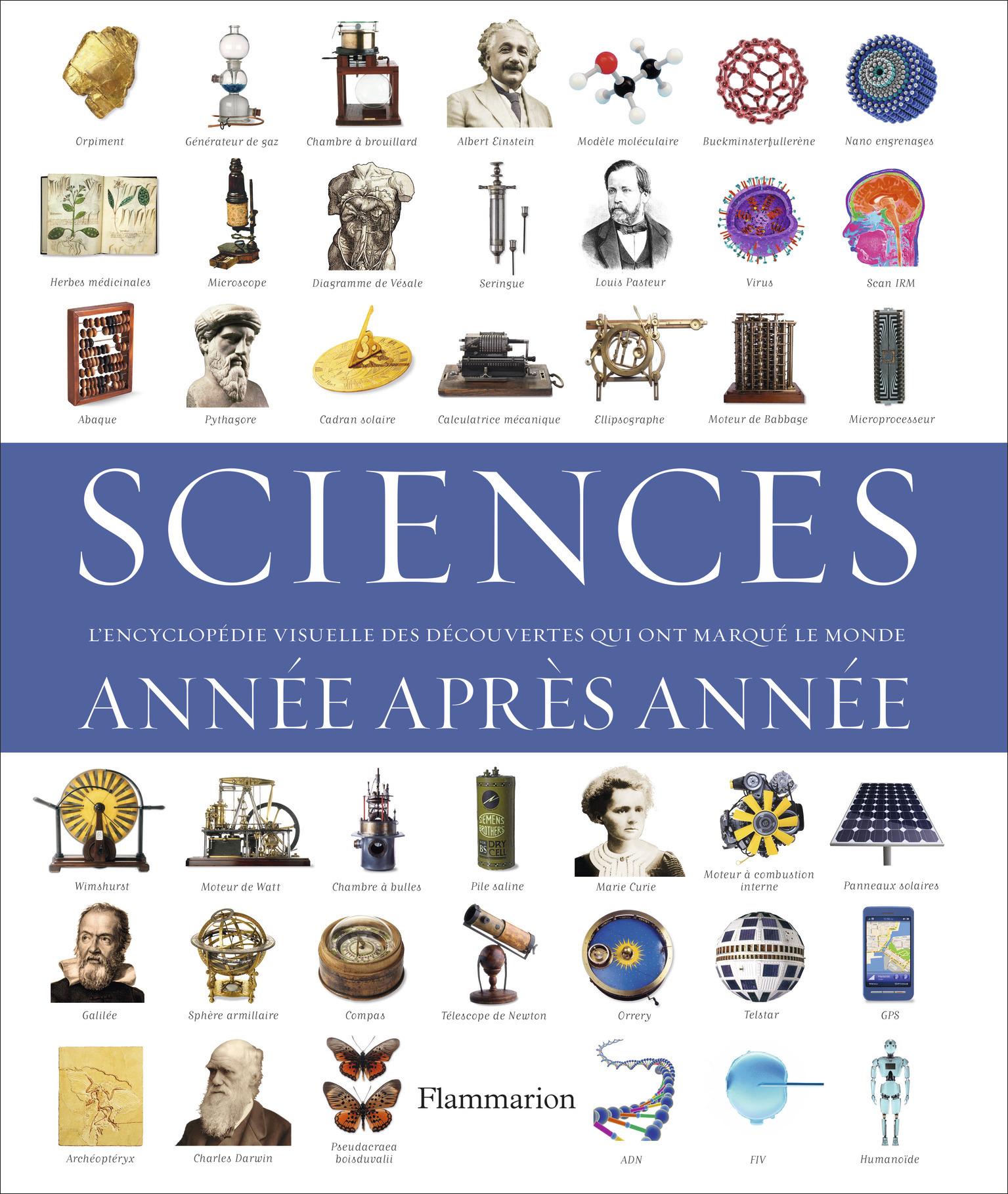 SCIENCES, ANNEE APRES ANNEE