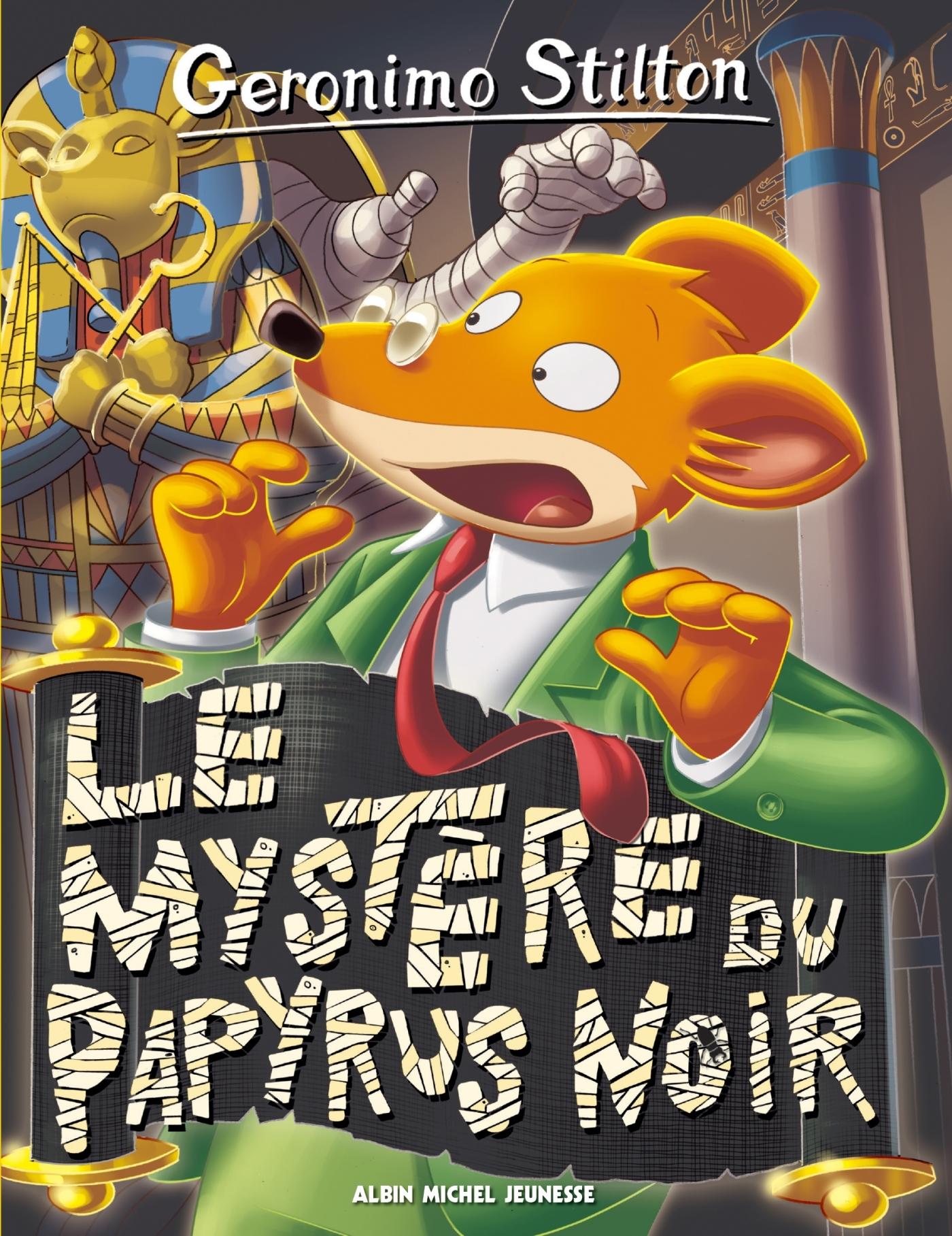 LE MYSTERE DU PAPYRUS NOIR N  86