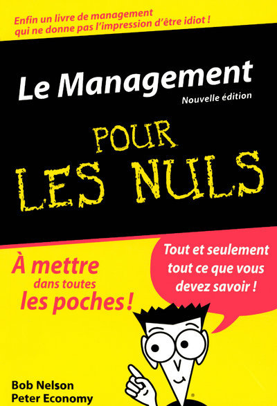 LE MANAGEMENT POCHE POUR LES NULS, NLLE EDITION