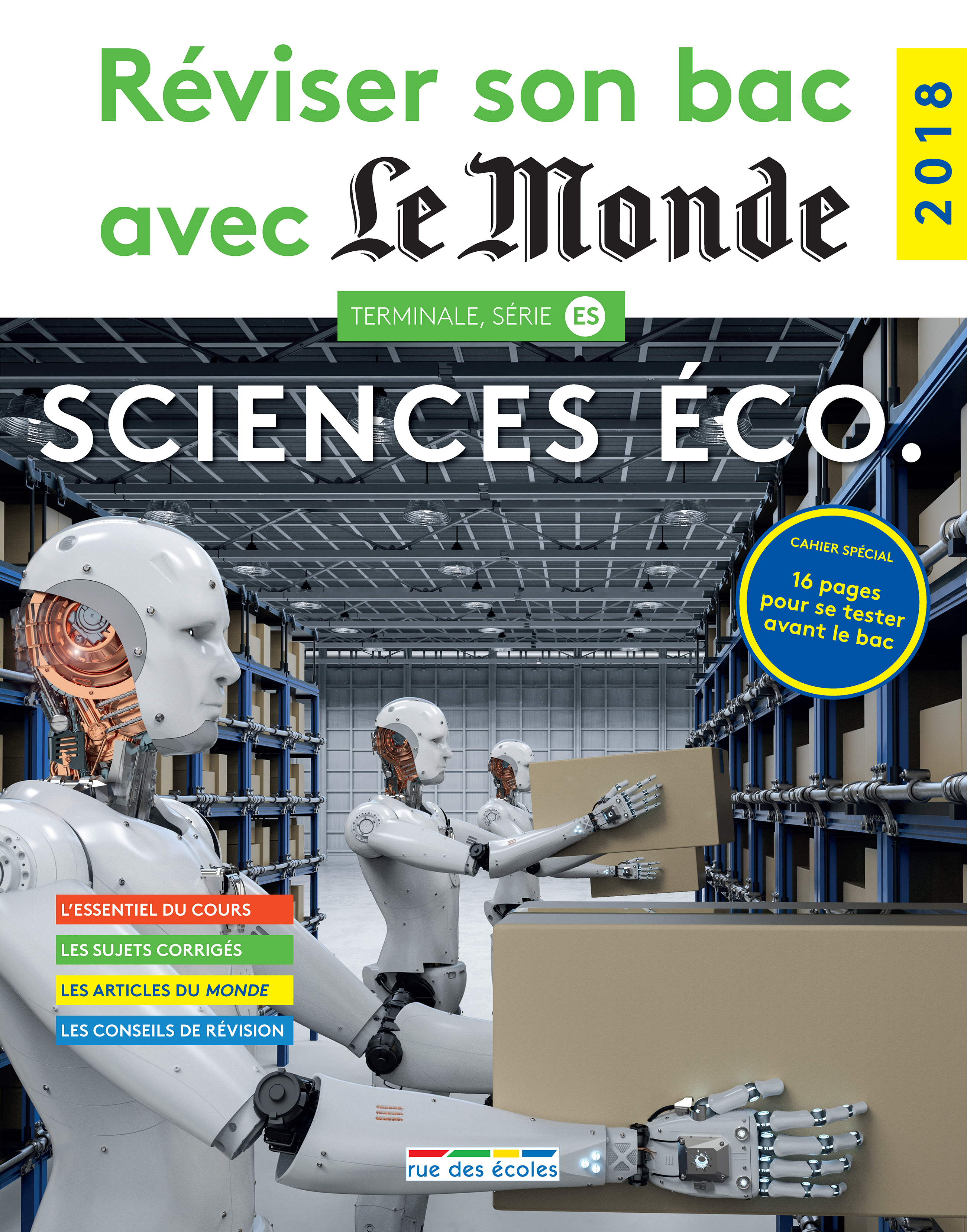 REVISER SON BAC AVEC LE MONDE : SCIENCES ECO 2018