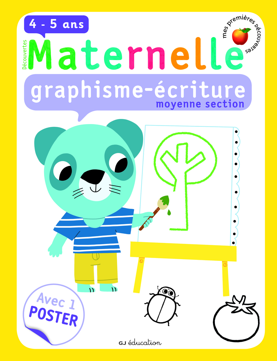 GRAPHISME-ECRITURE, MOYENNE SECTION