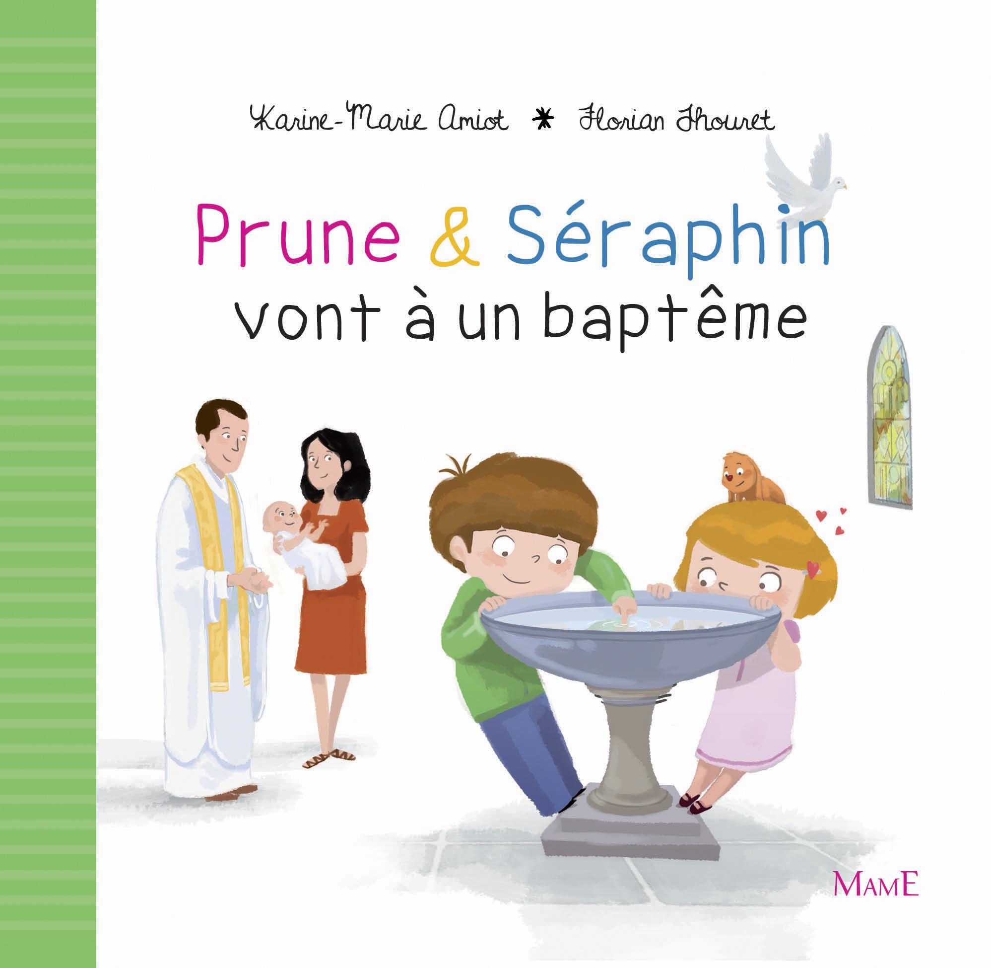 PRUNE ET SERAPHIN VONT A UN BAPTEME