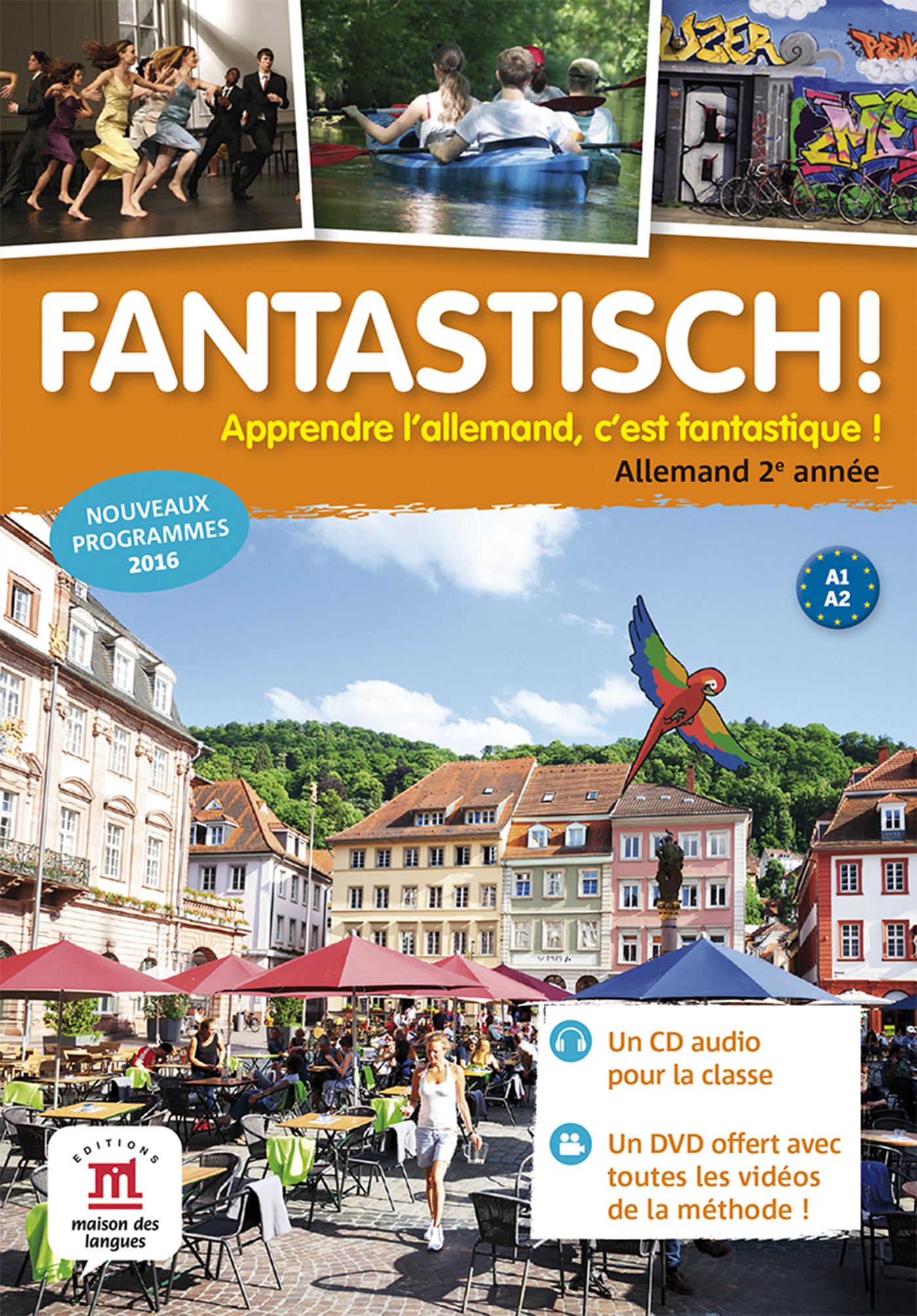 FANTASTISCH! 2 - CD AUDIO CLASSE + DVD