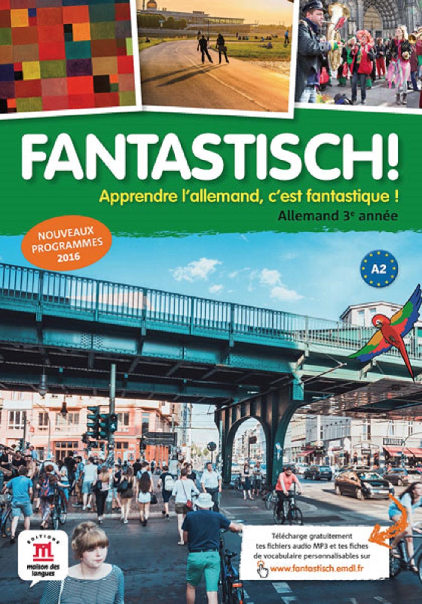 FANTASTISCH! 3 - LIVRE DE L'ELEVE