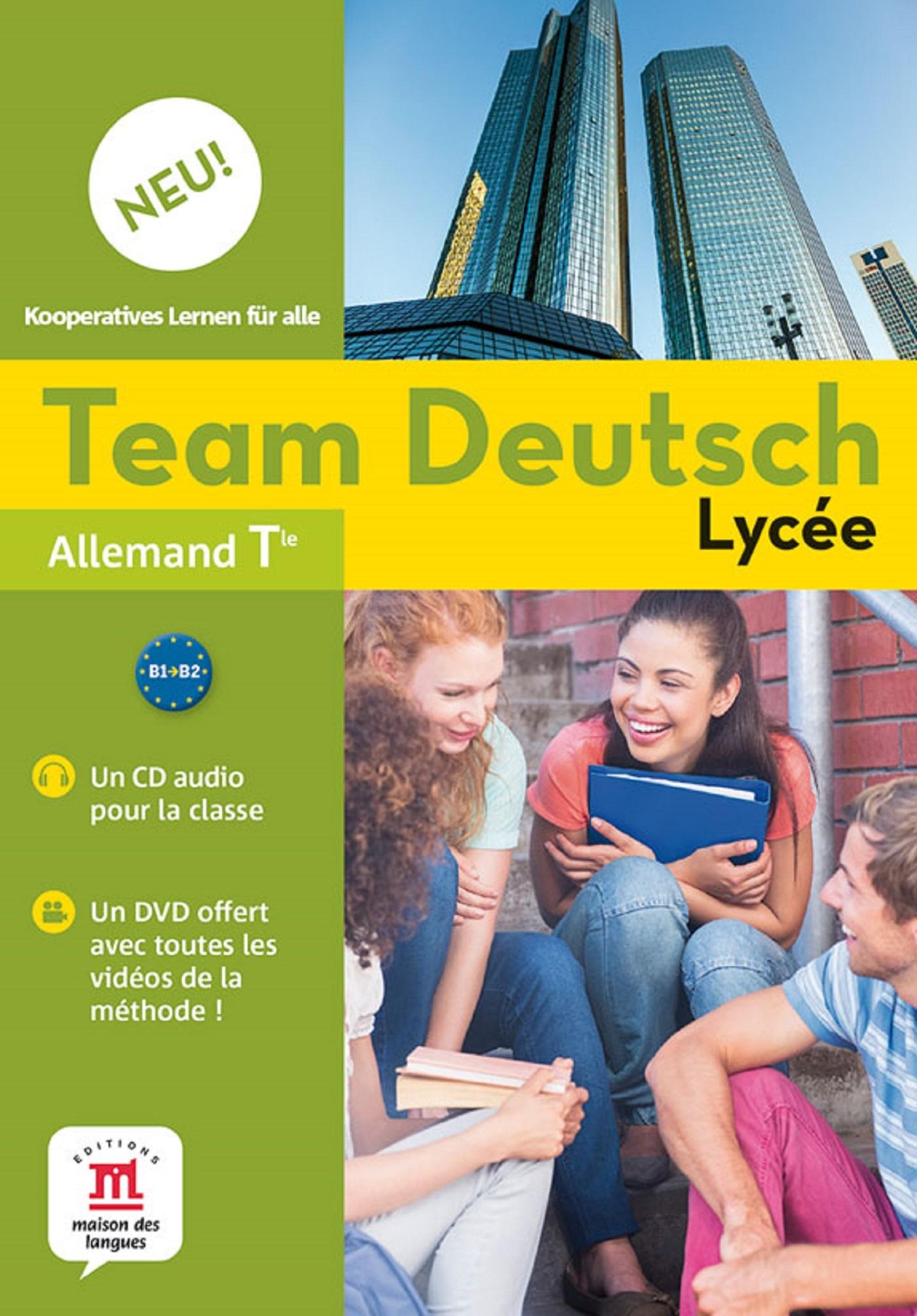TEAM DEUTSCH NEU LYCEE TLE - PACK CD AUDIO CLASSE + DVD
