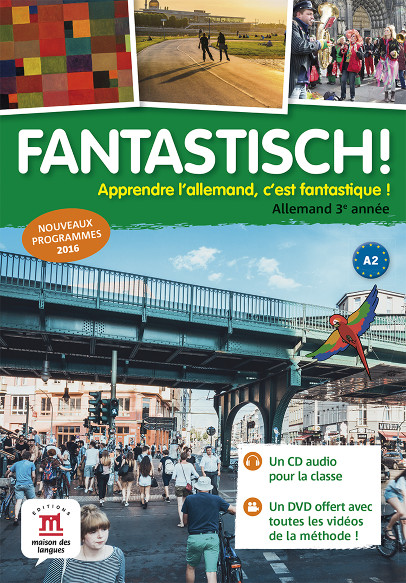 FANTASTISCH! 3 - CD AUDIO CLASSE + DVD