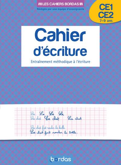 CAHIER D'ECRITURE CE1/CE2