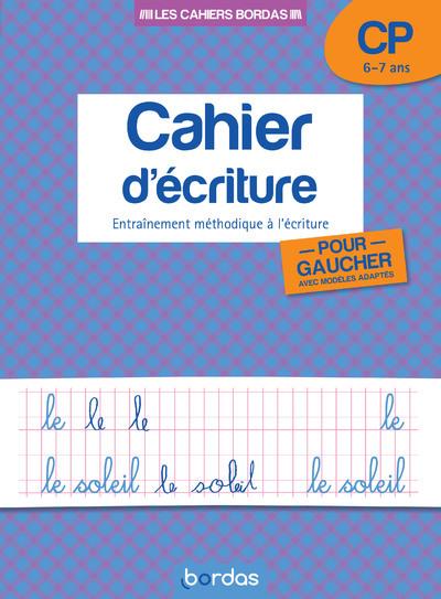 CAHIER D ECRITURE GAUCHERS CP