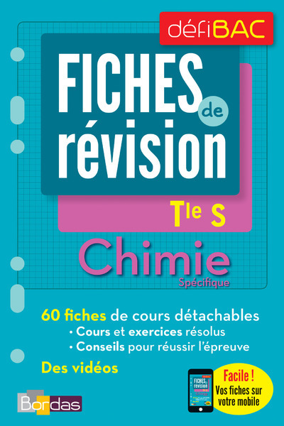 DEFIBAC - FICHES DE REVISION - CHIMIE SPECIFIQUE TLE S