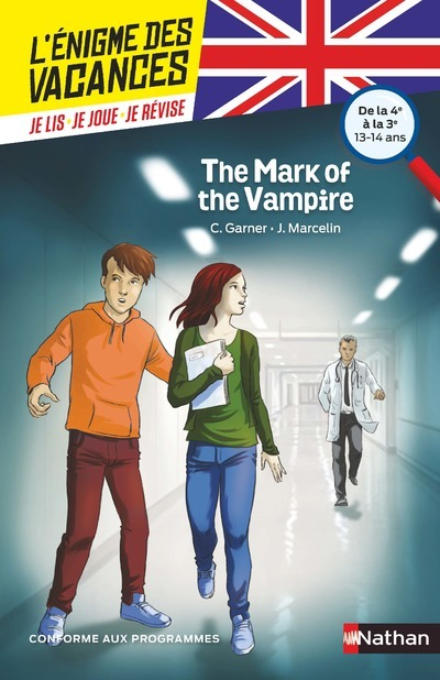 ENIGME DES VACANCES ANGLAIS : THE MARK OF THE VAMPIRE 4E/3E