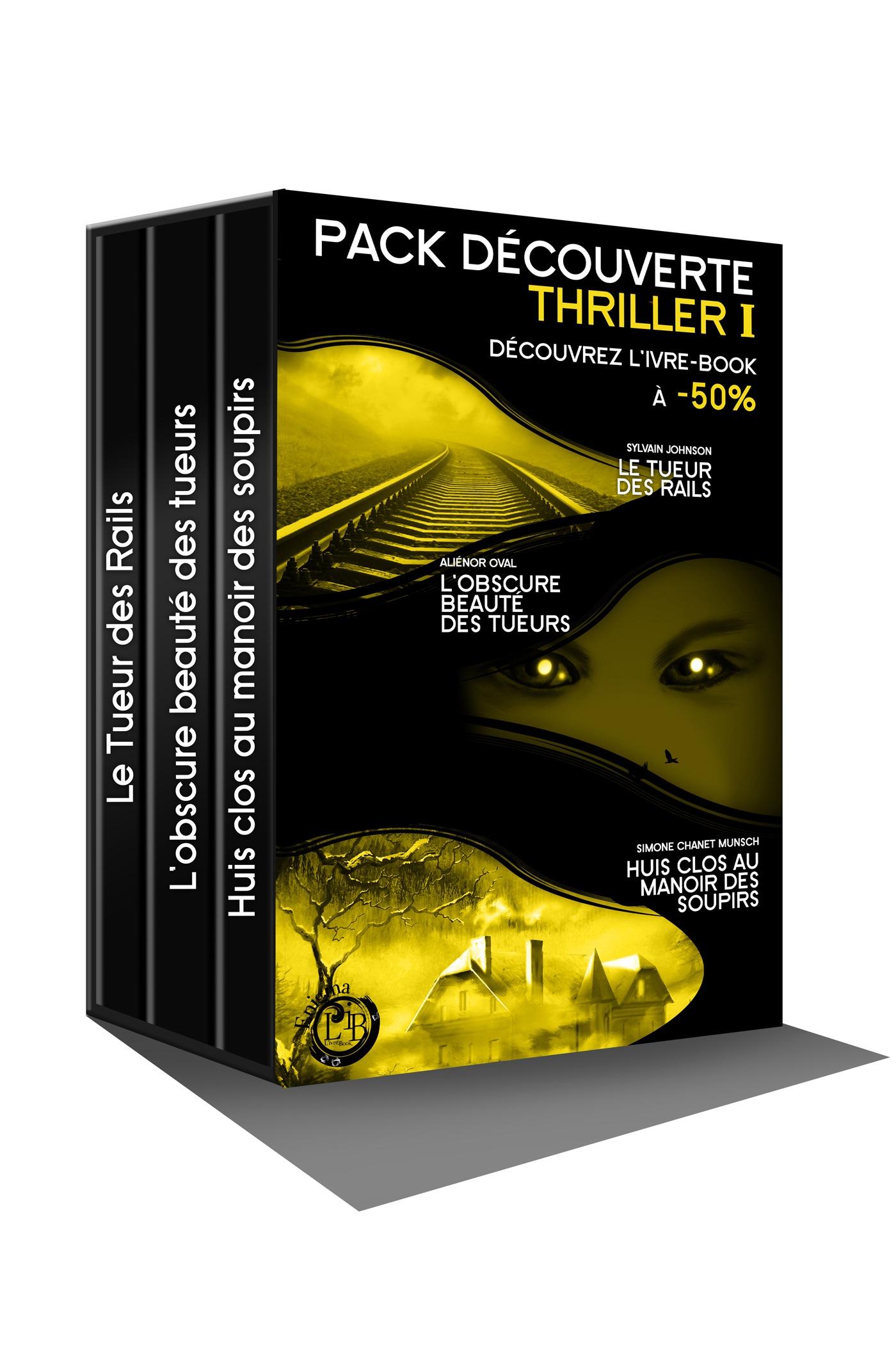 Pack Découverte Thriller 1