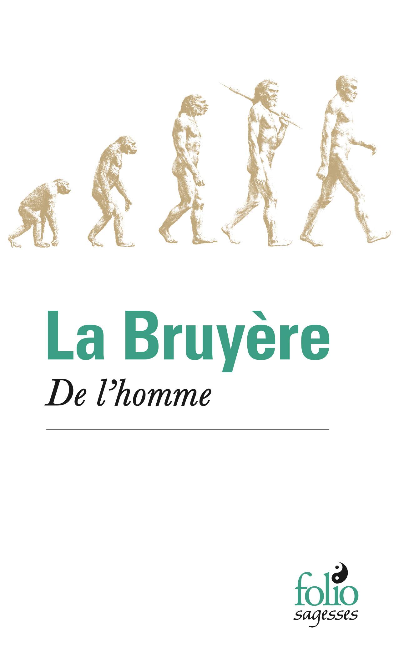 DE L'HOMME