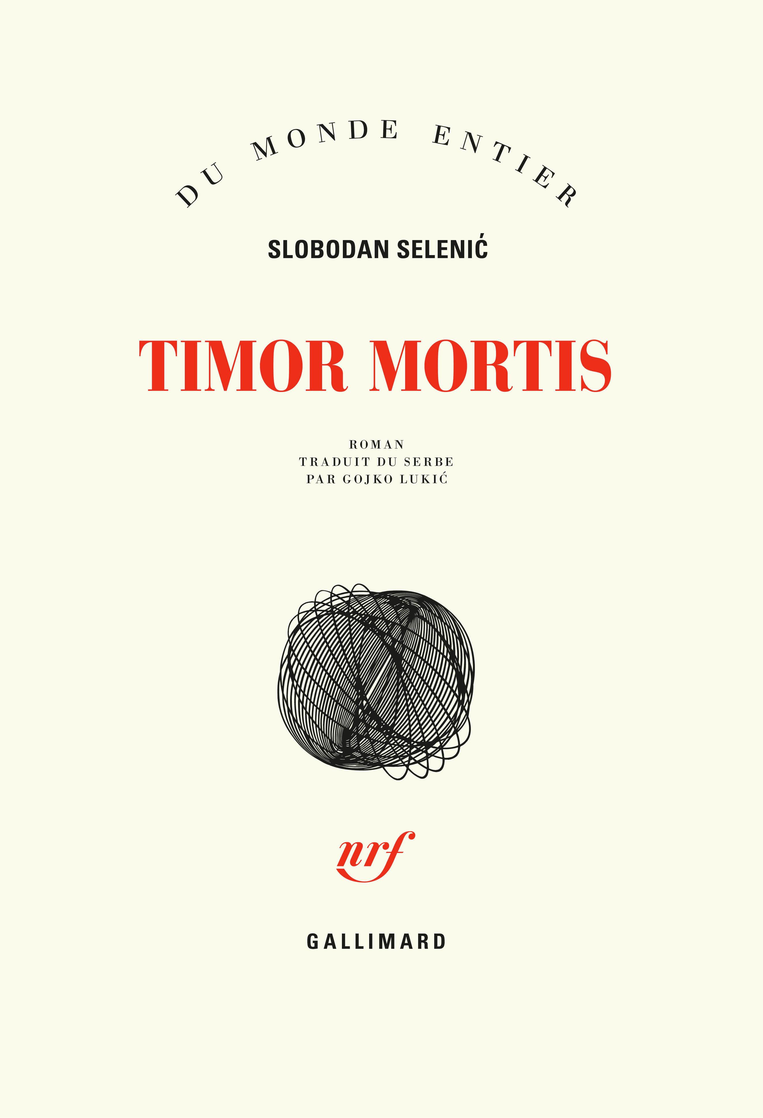 DU MONDE ENTIER - TIMOR MORTIS