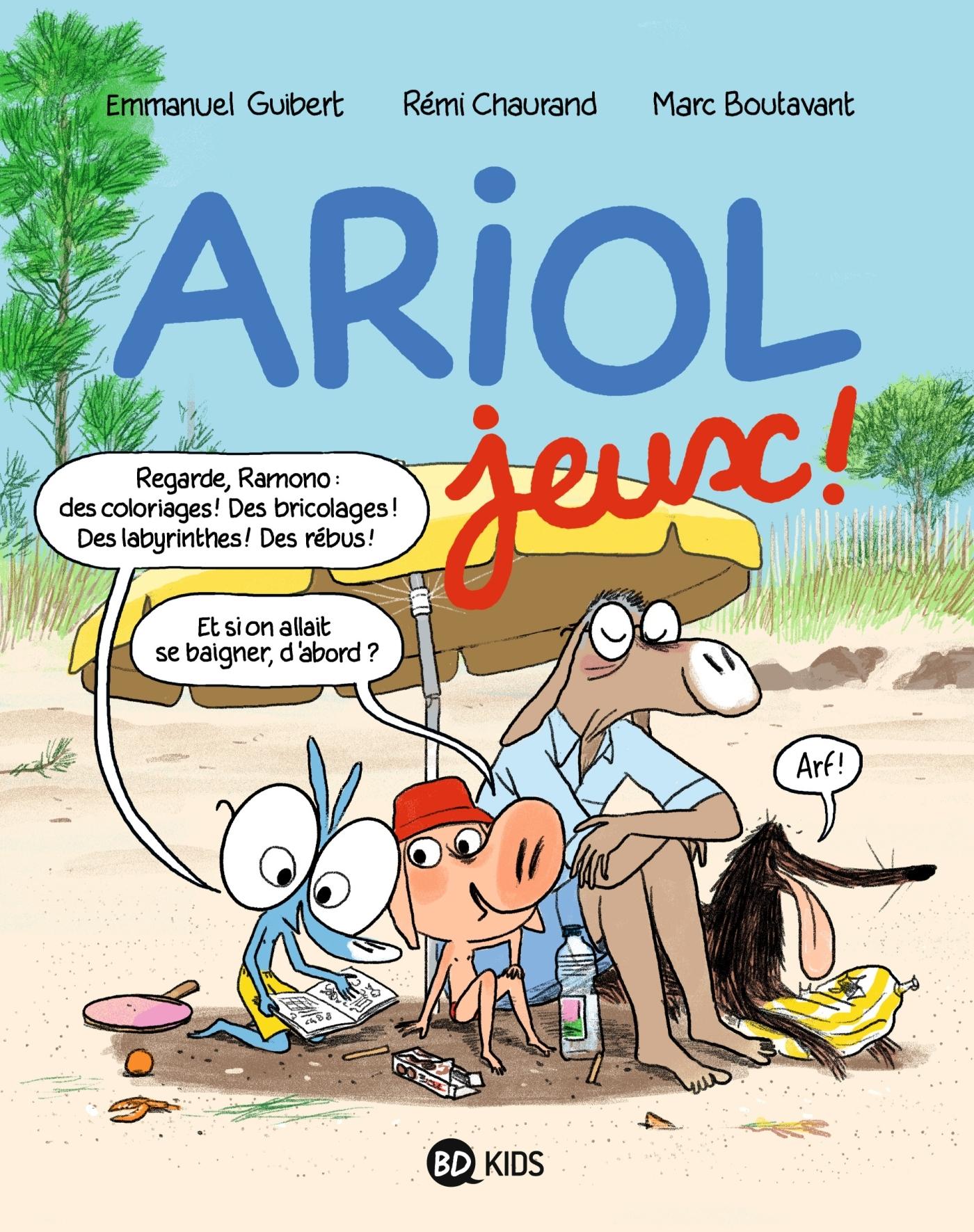 CAHIER DE JEUX ARIOL