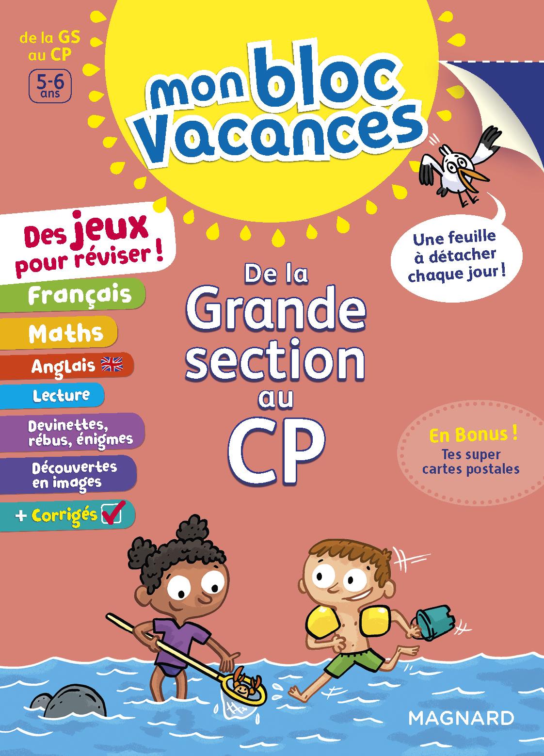 BLOC VACANCES GS-CP (MON)