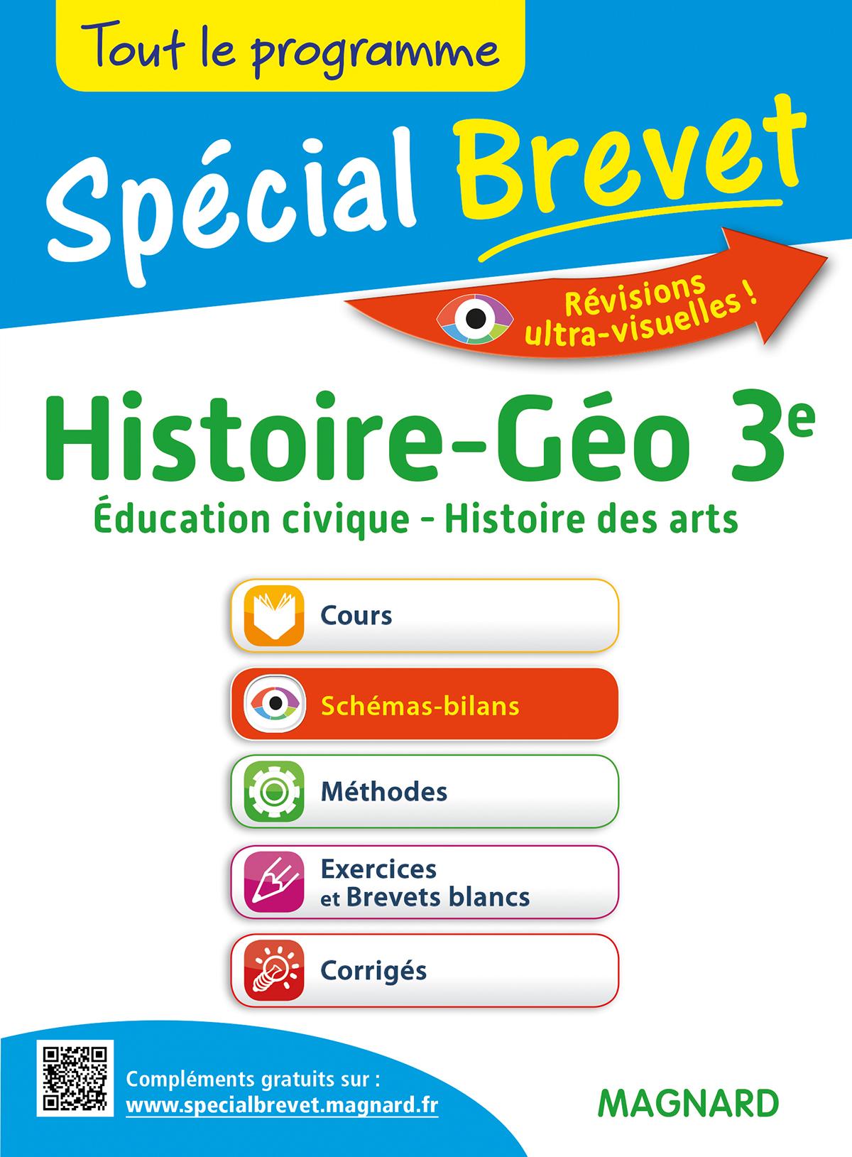 SPECIAL BREVET HISTOIRE GEOGRAPHIE EDUCATION CIVIQUE 3E HISTOIRE DES ARTS
