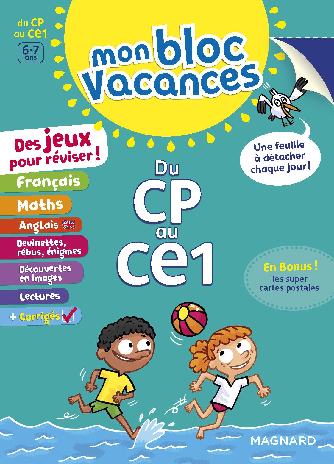 BLOC VACANCES CP-CE1 (MON)