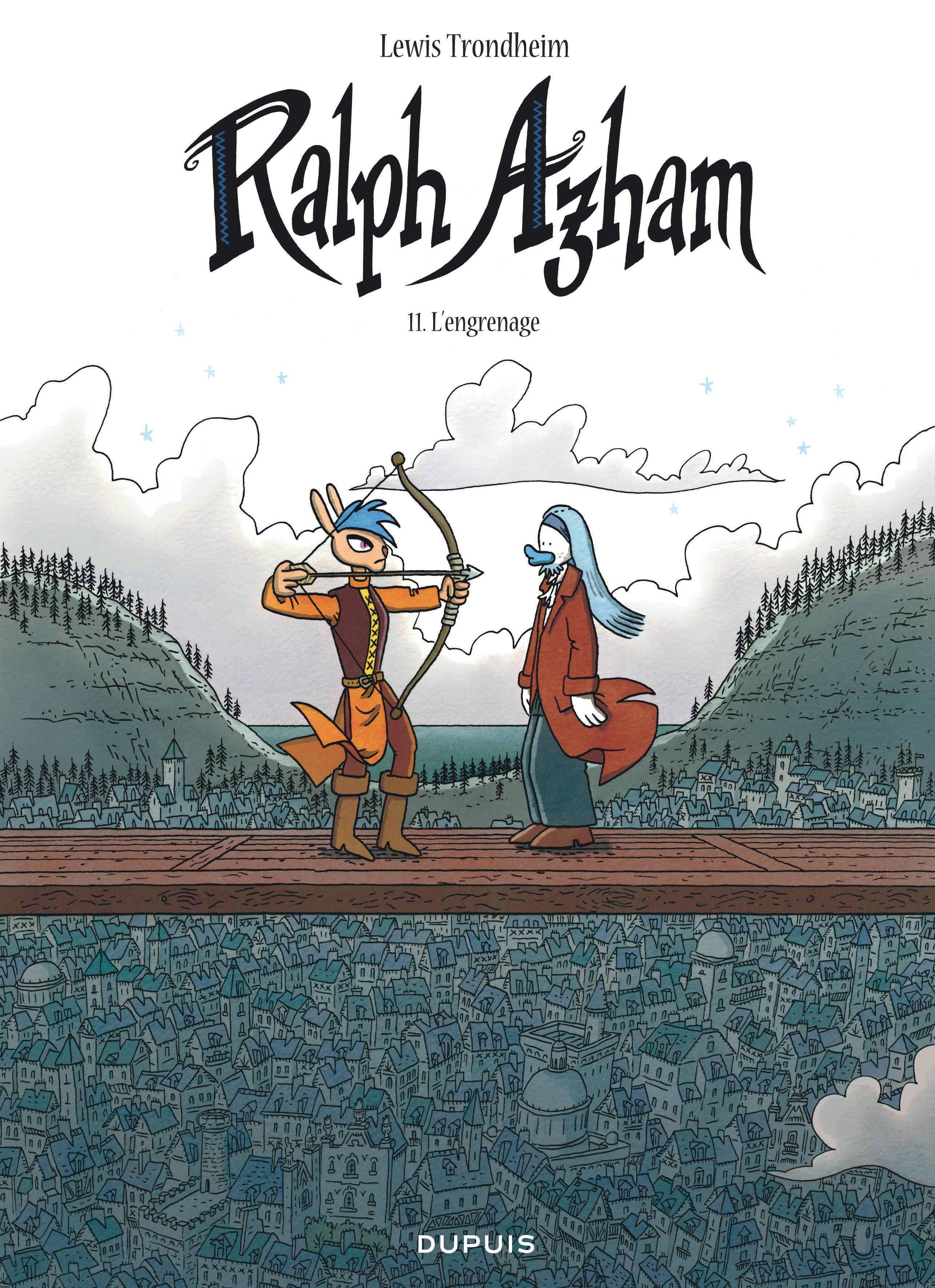 RALPH AZHAM - T11 - L'ENGRENAGE