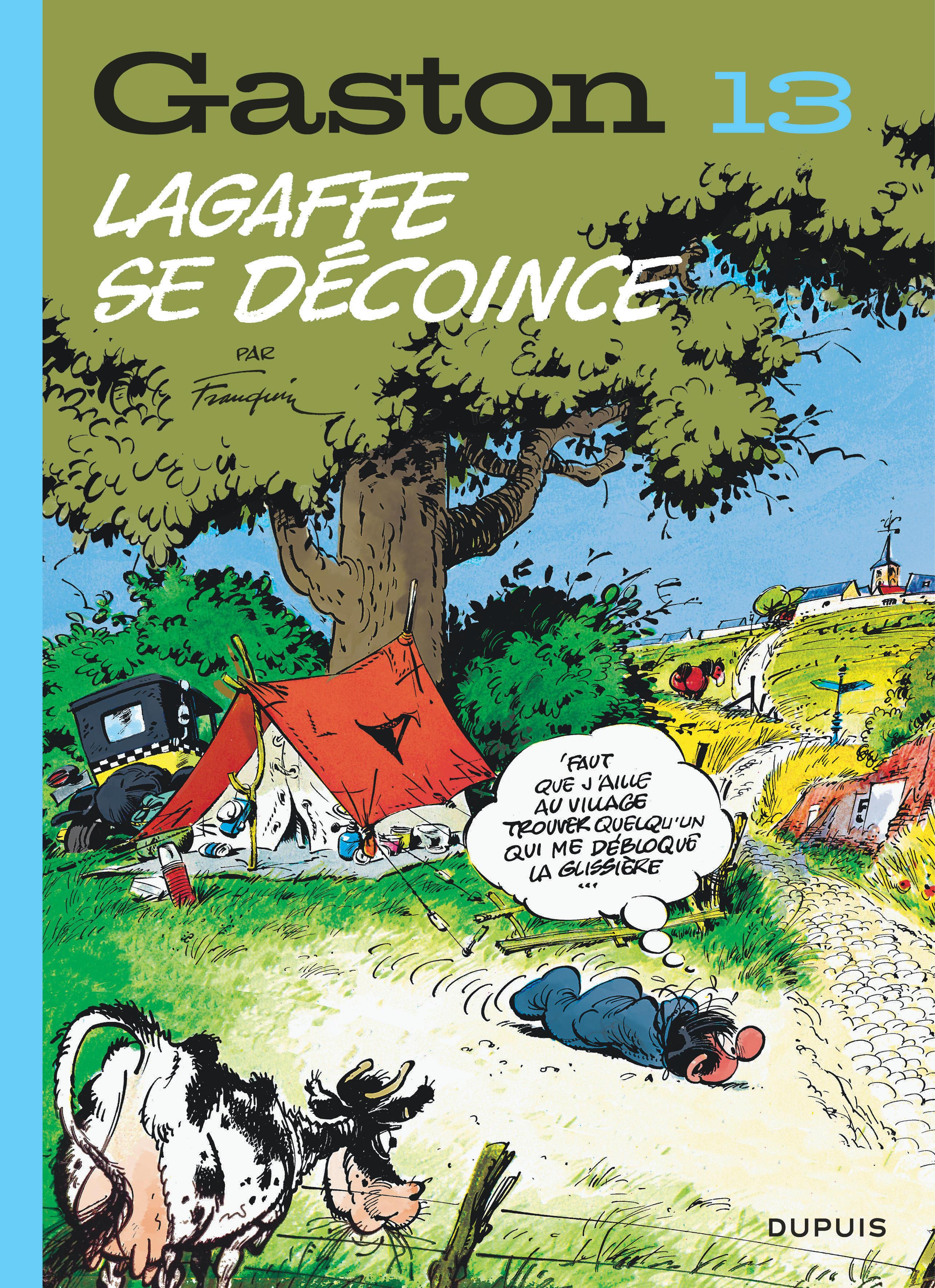 GASTON (EDITION 2018) - TOME 13 - LAGAFFE SE DECOINCE (EDITION 2018)