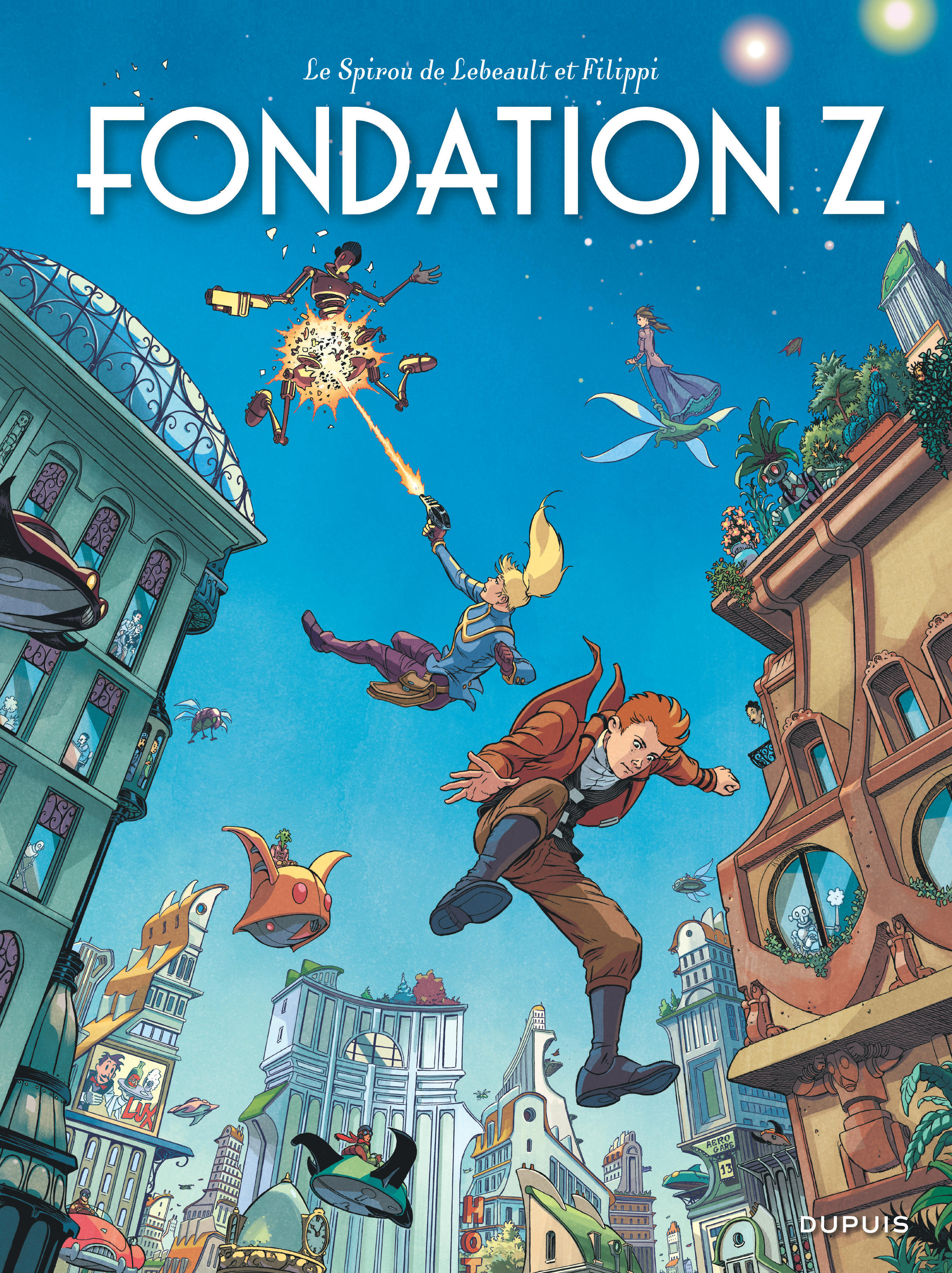 LE SPIROU DE ... - TOME 13 - FONDATION Z