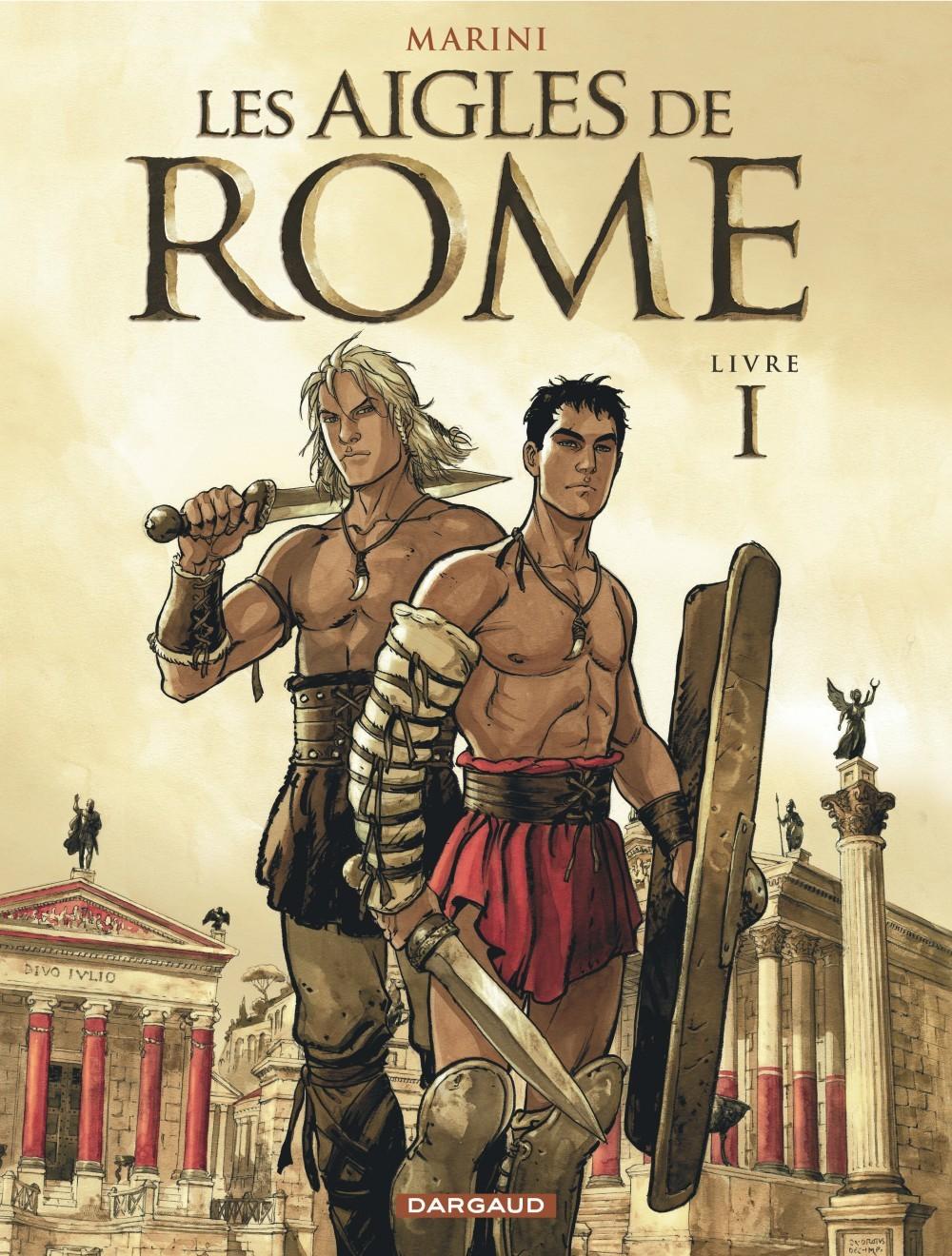 T1 - LES AIGLES DE ROME LIVRE I