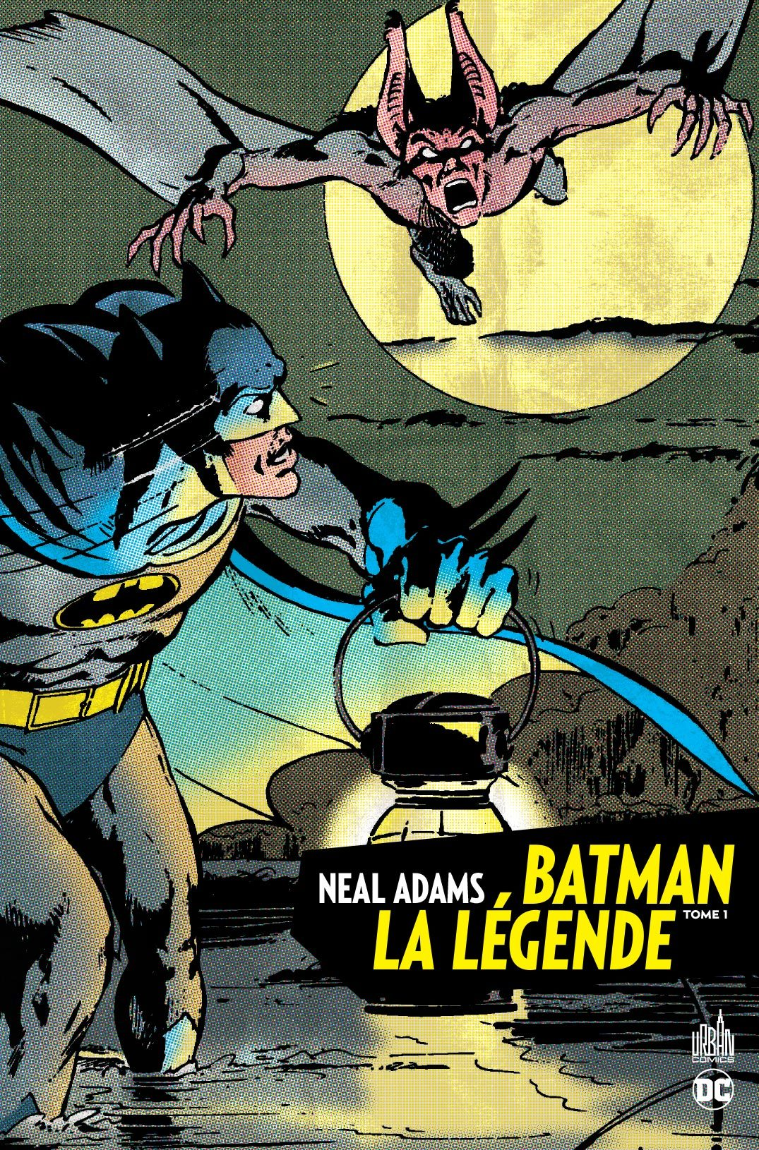BATMAN LA LEGENDE  - NEAL ADAMS  TOME 1