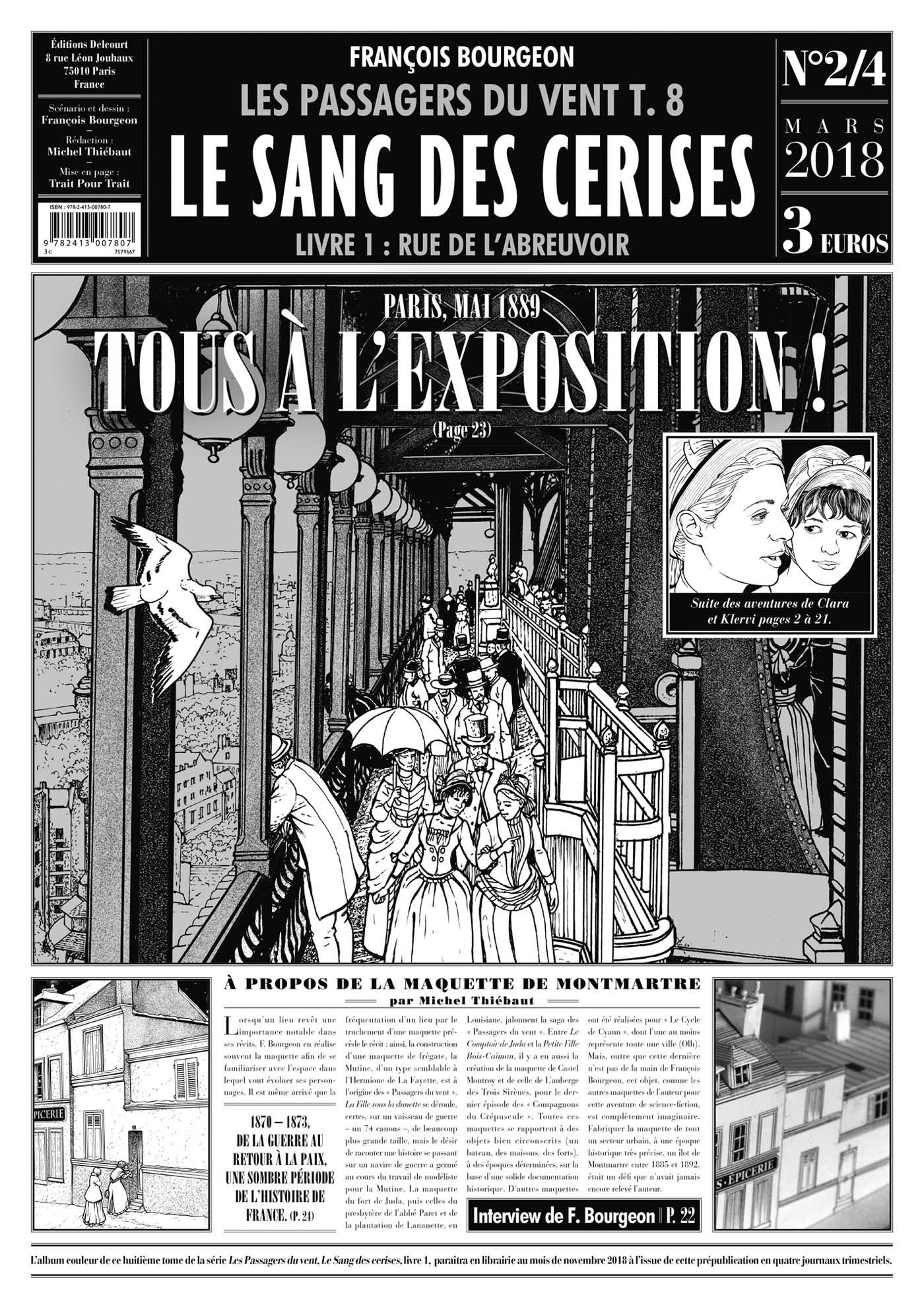 PASSAGERS DU VENT T08. LE SANG DES CERISES. JOURNAL 2/4