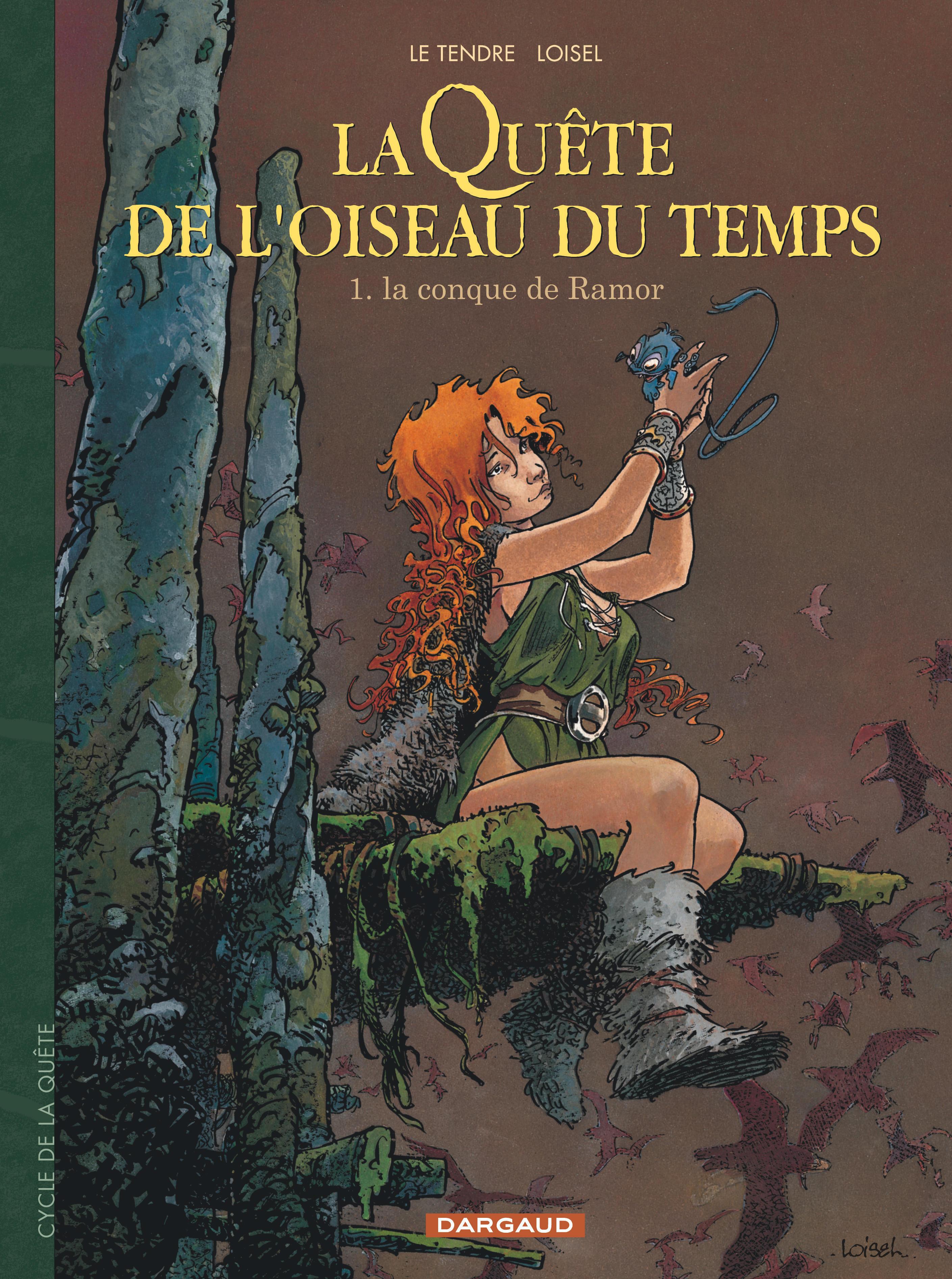 LA QUETE DE L'OISEAU DU TEMPS - T1 - LA CONQUE DE RAMOR
