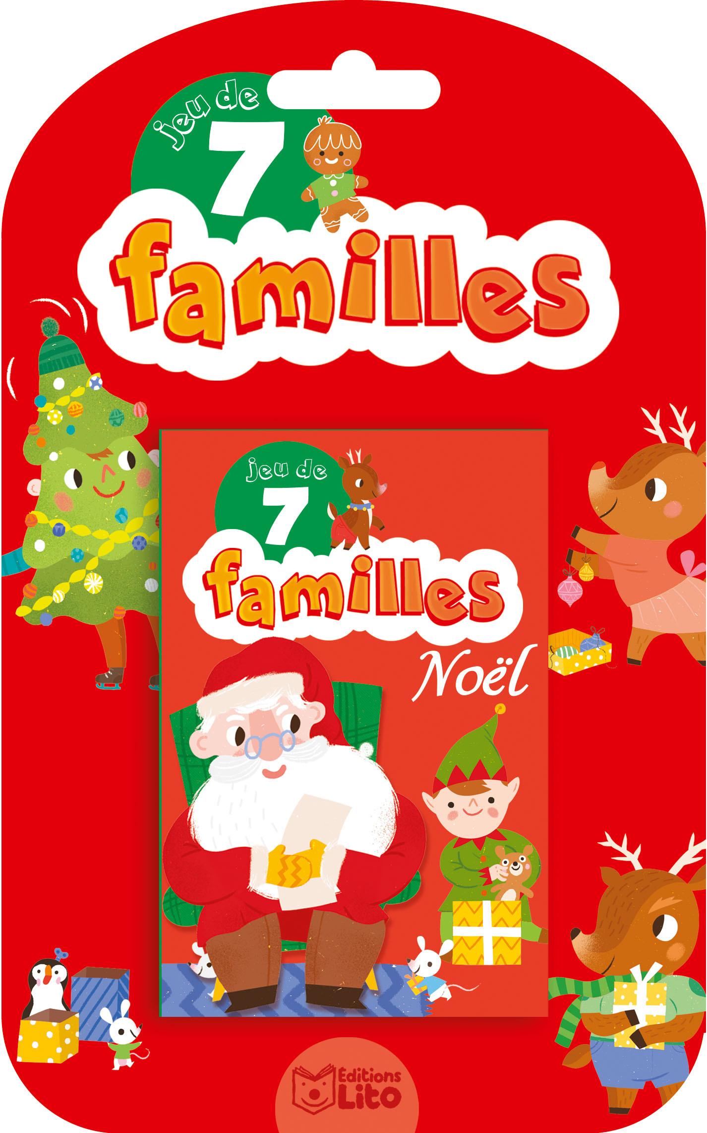 JEUX DE 7 FAMILLES NOEL