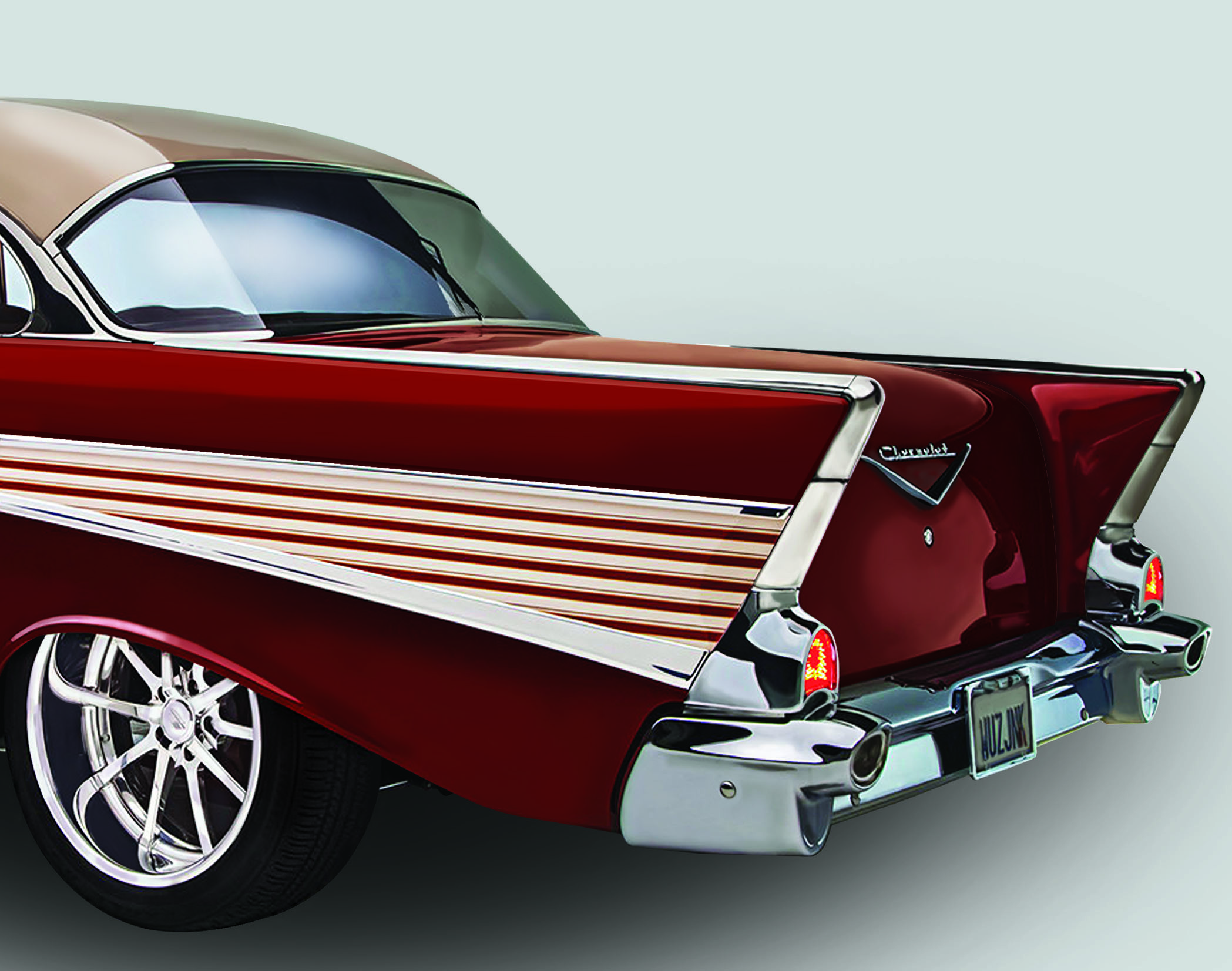 ON THE ROAD/CHEVROLET BEL AIR