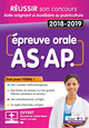 INTEGRAL AS-AP - EPREUVE L'ORALE 2018-2019