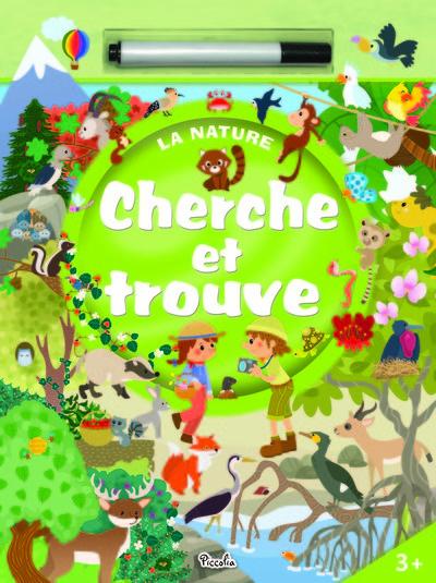 CHERCHE ET TROUVE : LA NATURE + FEUTRE