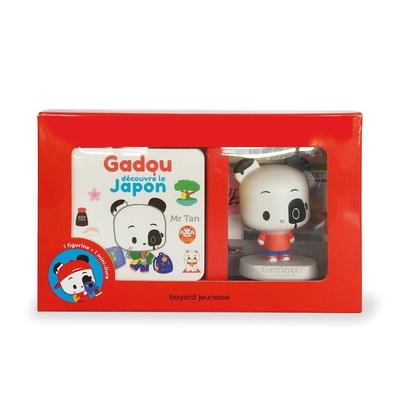 GADOU DECOUVRE LE JAPON - COFFRET LIVRE + FIGURINE